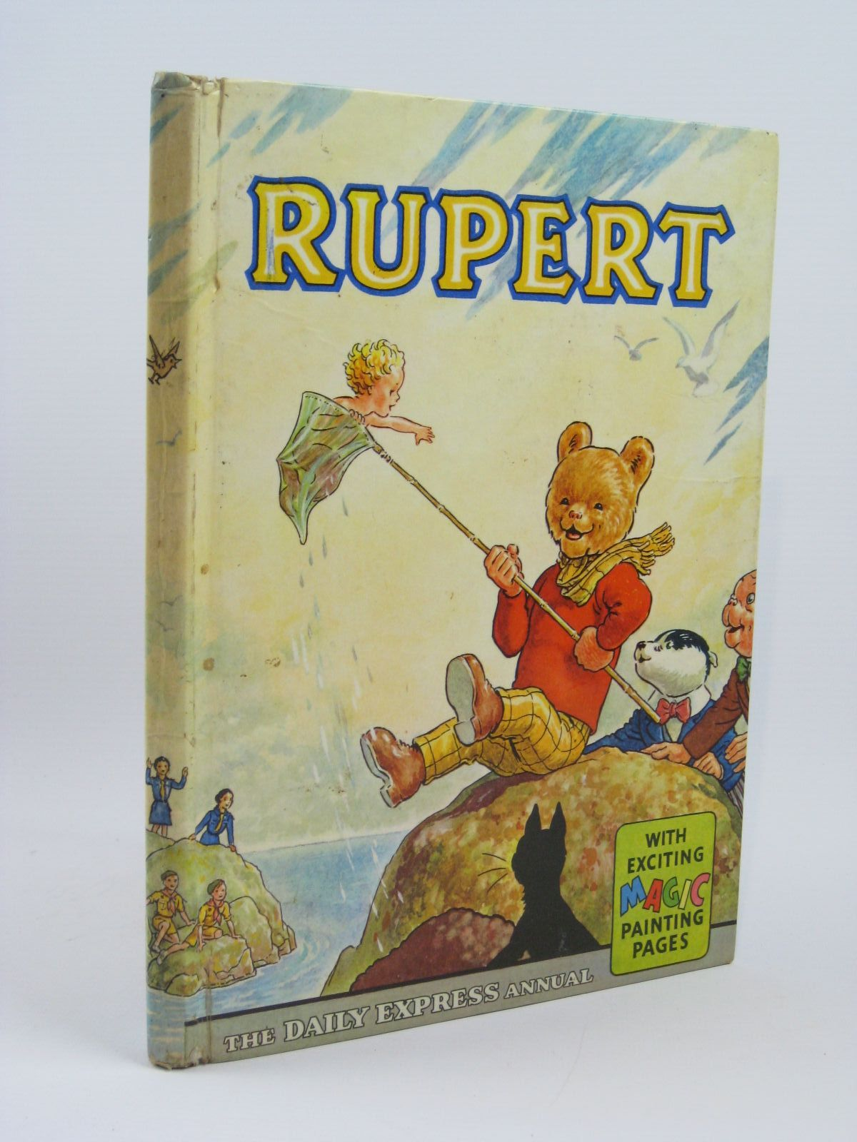 Photo of RUPERT ANNUAL 1963 written by Bestall, Alfred illustrated by Bestall, Alfred published by Daily Express (STOCK CODE: 1406165)  for sale by Stella & Rose's Books