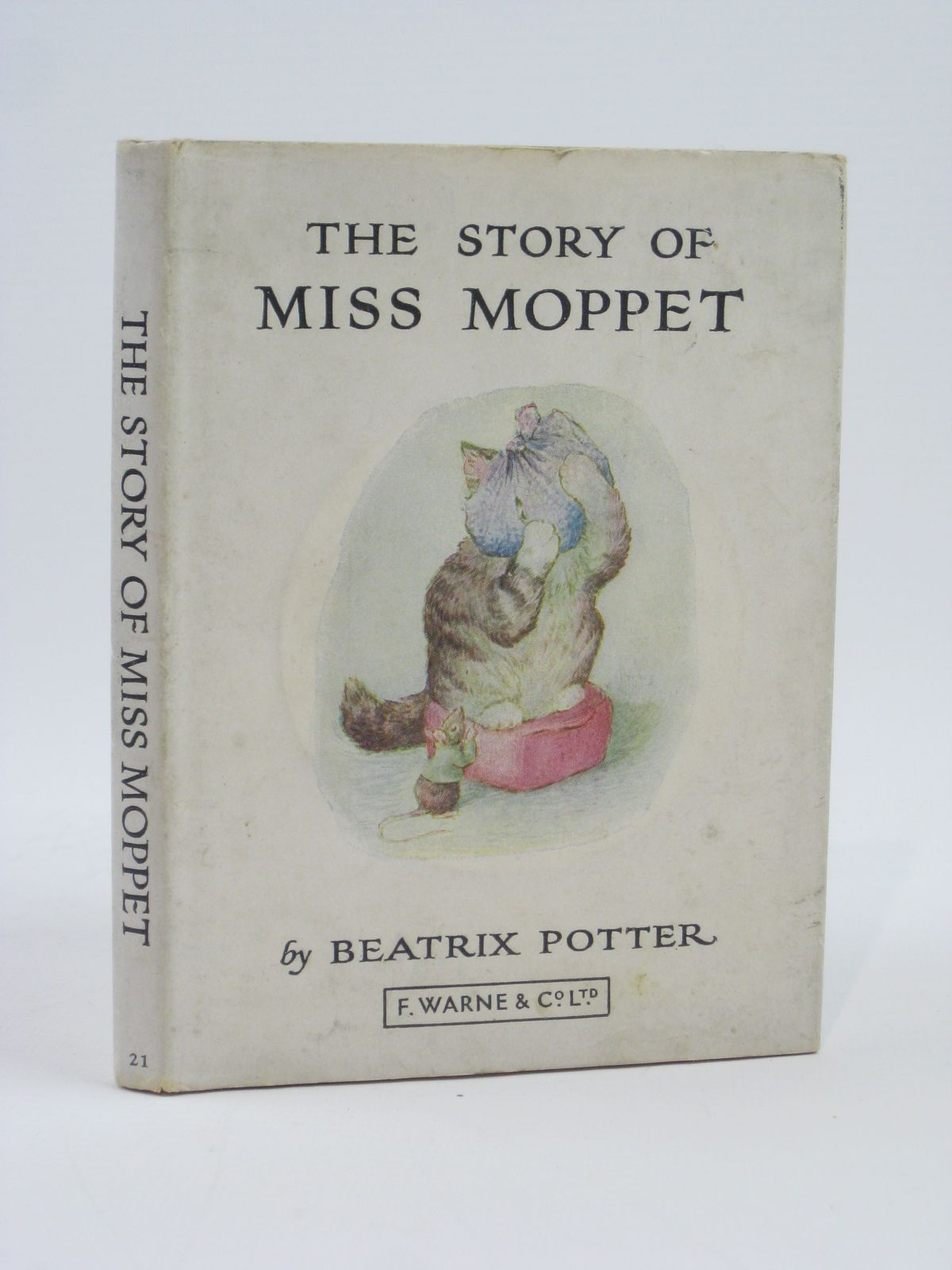Photo of THE STORY OF MISS MOPPET written by Potter, Beatrix illustrated by Potter, Beatrix published by Frederick Warne & Co Ltd. (STOCK CODE: 1406168)  for sale by Stella & Rose's Books