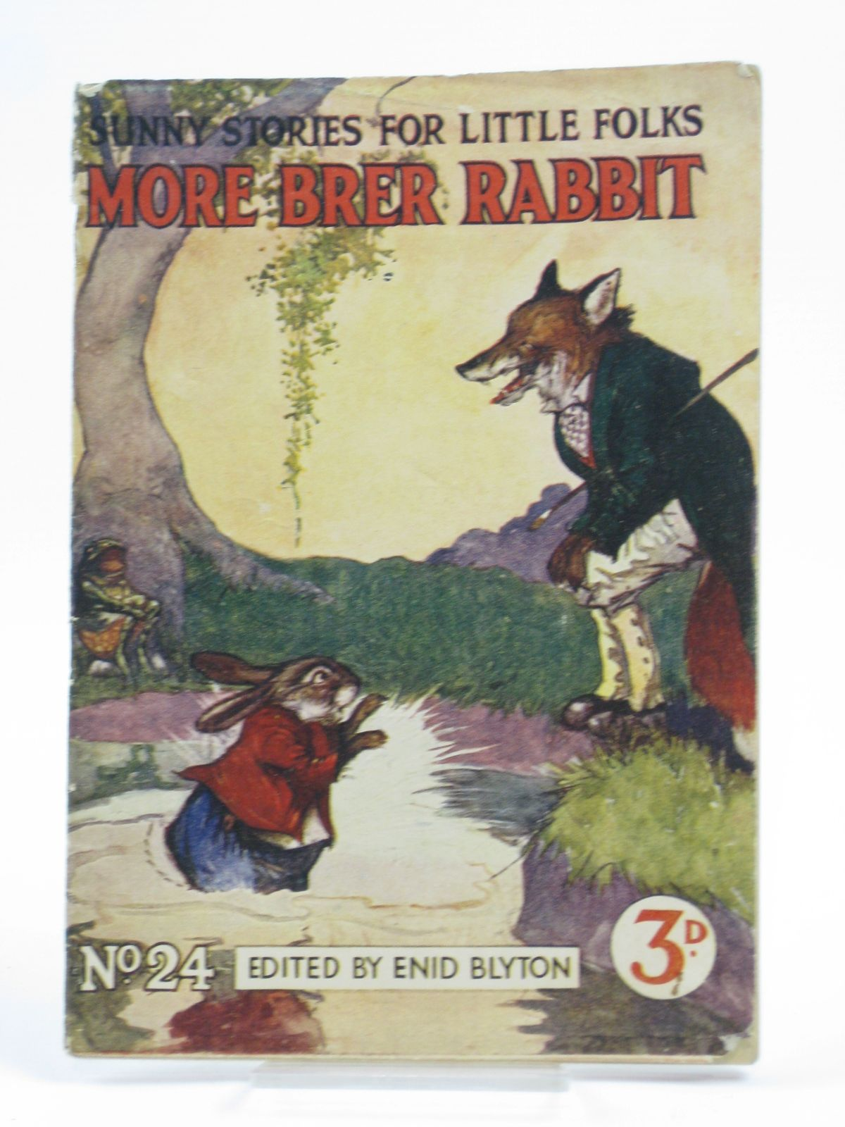 Photo of SUNNY STORIES FOR LITTLE FOLKS No. 24 MORE BRER RABBIT