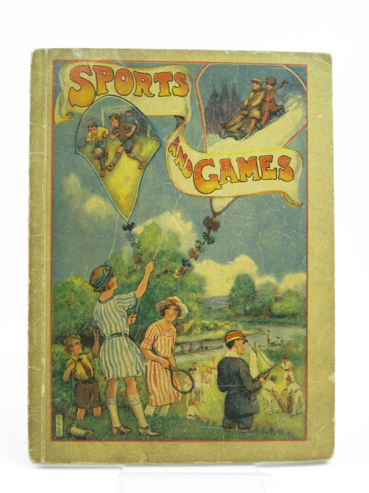 Photo of SPORTS AND GAMES written by Blyton, Enid illustrated by Ogle,  (STOCK CODE: 1406180)  for sale by Stella & Rose's Books