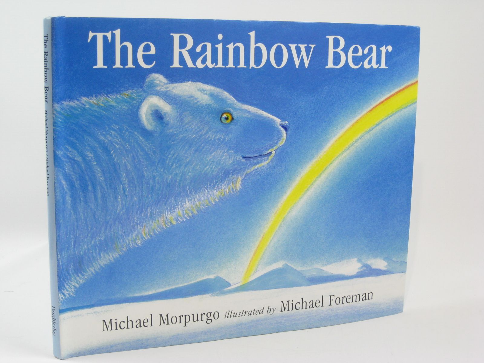 Photo of THE RAINBOW BEAR written by Morpurgo, Michael illustrated by Foreman, Michael published by Doubleday (STOCK CODE: 1406228)  for sale by Stella & Rose's Books