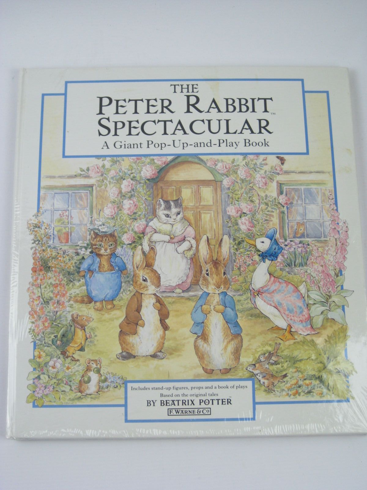 Photo of THE PETER RABBIT SPECTACULAR written by Potter, Beatrix illustrated by Potter, Beatrix published by Frederick Warne (STOCK CODE: 1406237)  for sale by Stella & Rose's Books