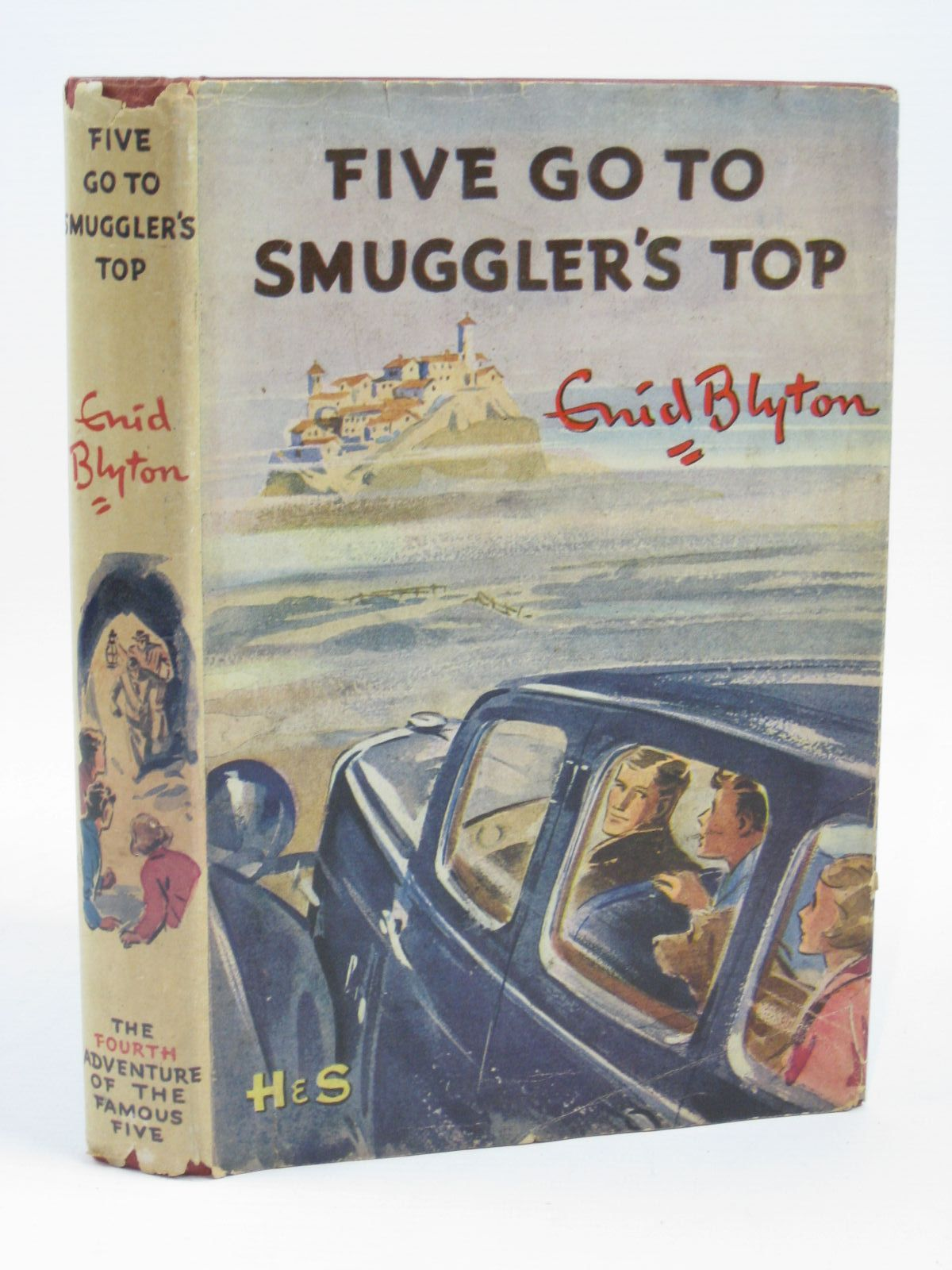 Photo of FIVE GO TO SMUGGLER'S TOP written by Blyton, Enid illustrated by Soper, Eileen published by Hodder & Stoughton (STOCK CODE: 1406313)  for sale by Stella & Rose's Books