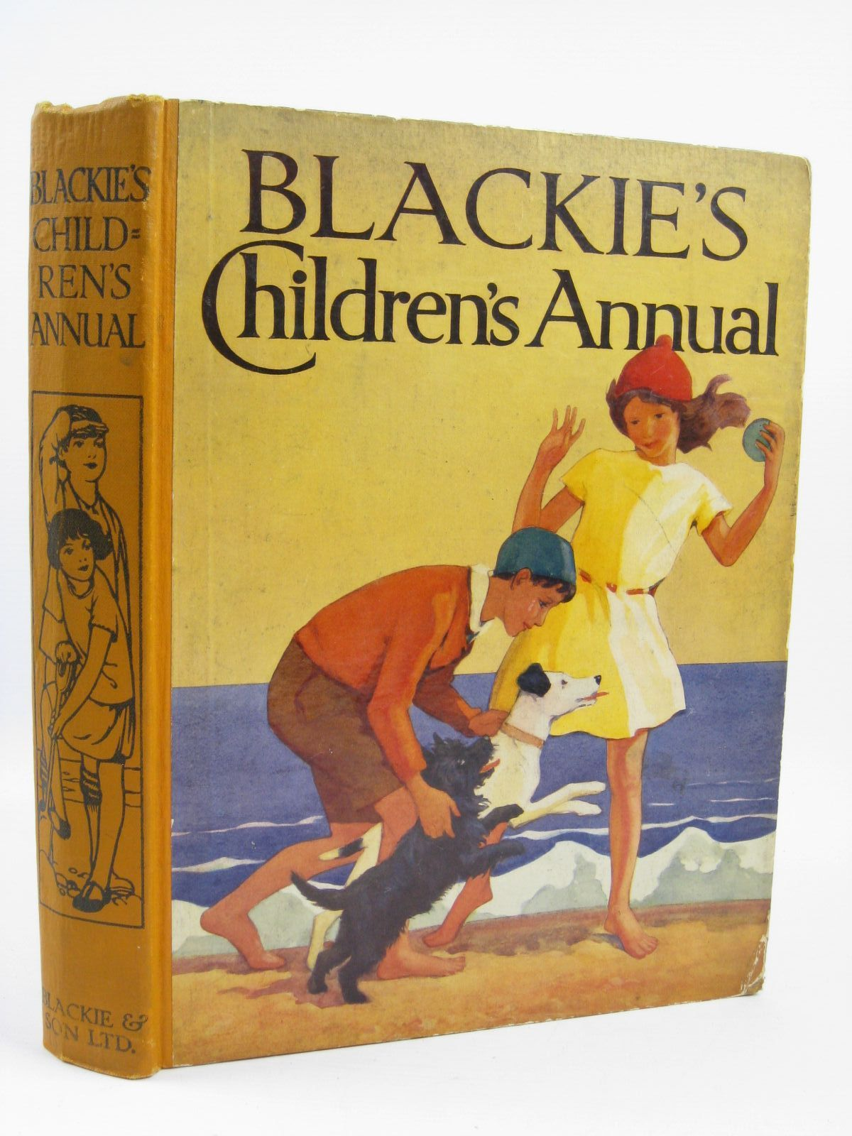 Photo of BLACKIE'S CHILDREN'S ANNUAL 30TH YEAR written by Simeon, Eleanor B.<br />Bull, Rene<br />Cloke, Rene<br />Herbertson, Agnes Grozier<br />et al,  illustrated by Rountree, Harry<br />Brett, M.E.<br />Brock, H.M.<br />et al.,  published by Blackie & Son Ltd. (STOCK CODE: 1406403)  for sale by Stella & Rose's Books