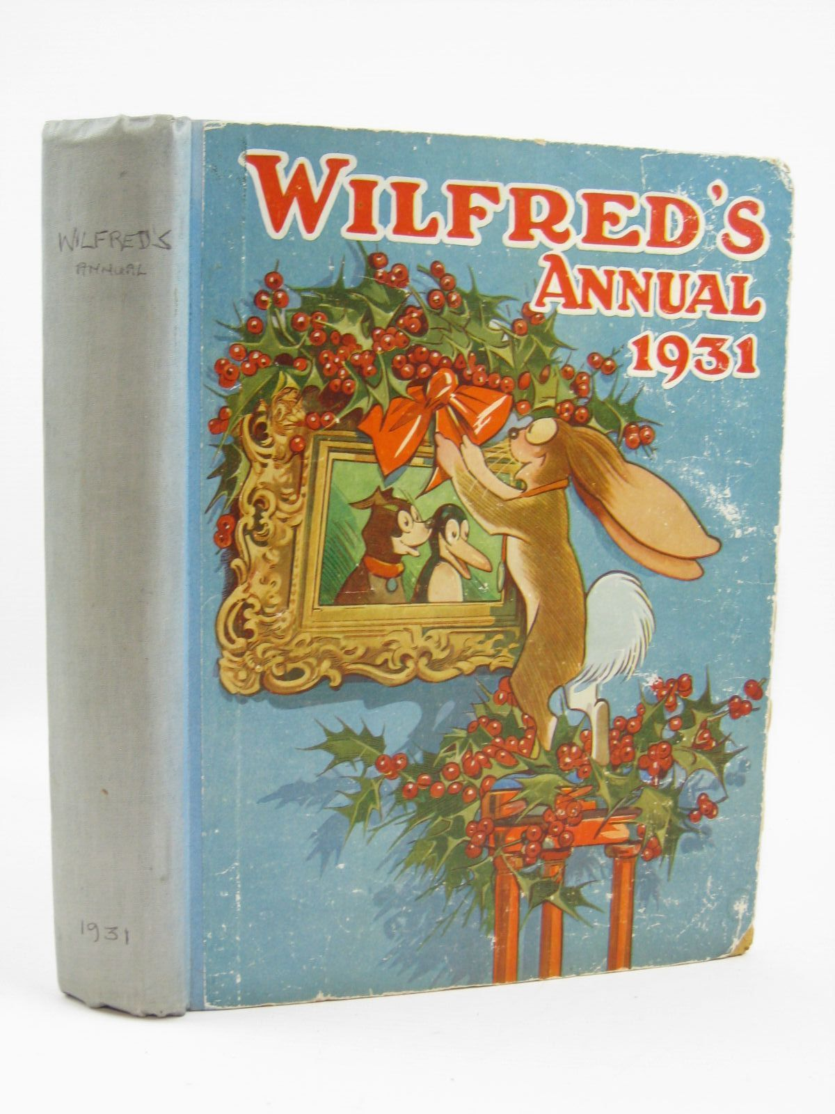 Photo of WILFRED'S ANNUAL 1931 illustrated by Browne, Jaques<br />Brisley, Nina K.<br />et al.,  published by Daily Mirror (STOCK CODE: 1406408)  for sale by Stella & Rose's Books