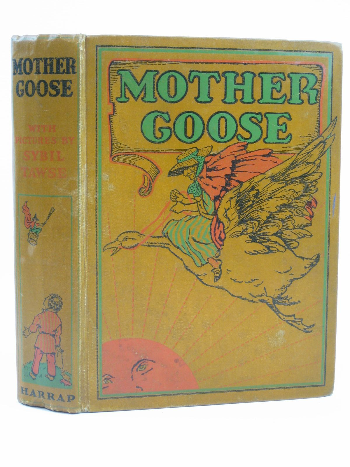 Photo of MOTHER GOOSE illustrated by Tawse, Sybil published by George G. Harrap & Co. Ltd. (STOCK CODE: 1406463)  for sale by Stella & Rose's Books