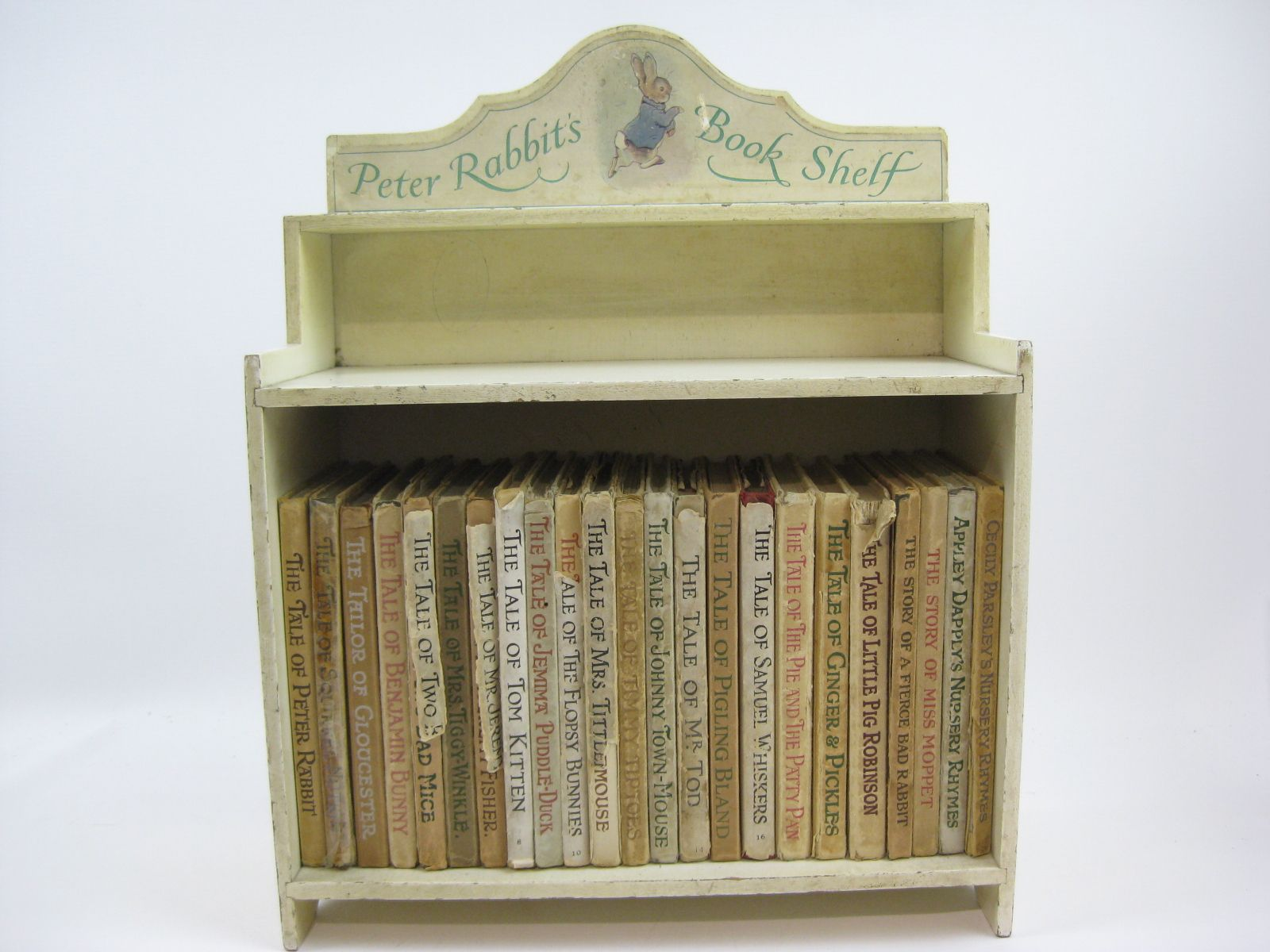 Photo of THE WORLD OF PETER RABBIT (COMPLETE SET OF THE TALES WITH BOOKSHELF)