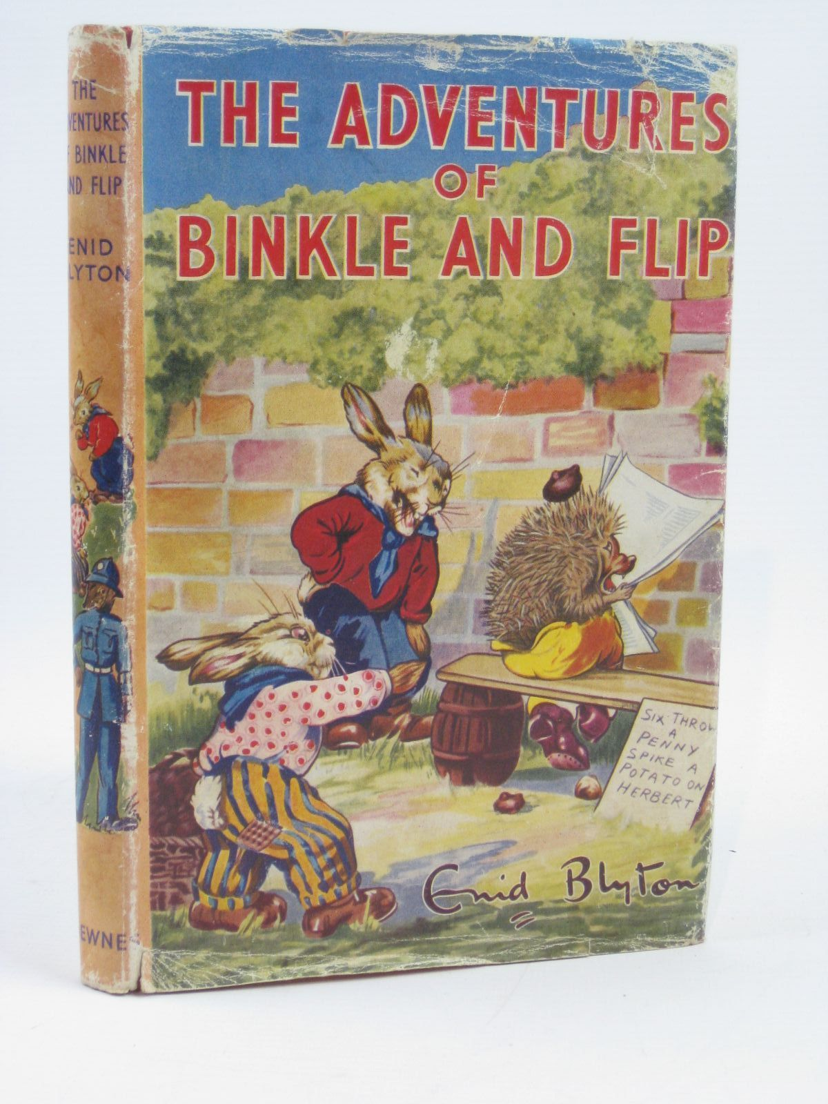 Photo of THE ADVENTURES OF BINKLE AND FLIP written by Blyton, Enid illustrated by Nixon, Kathleen published by George Newnes Limited (STOCK CODE: 1406491)  for sale by Stella & Rose's Books