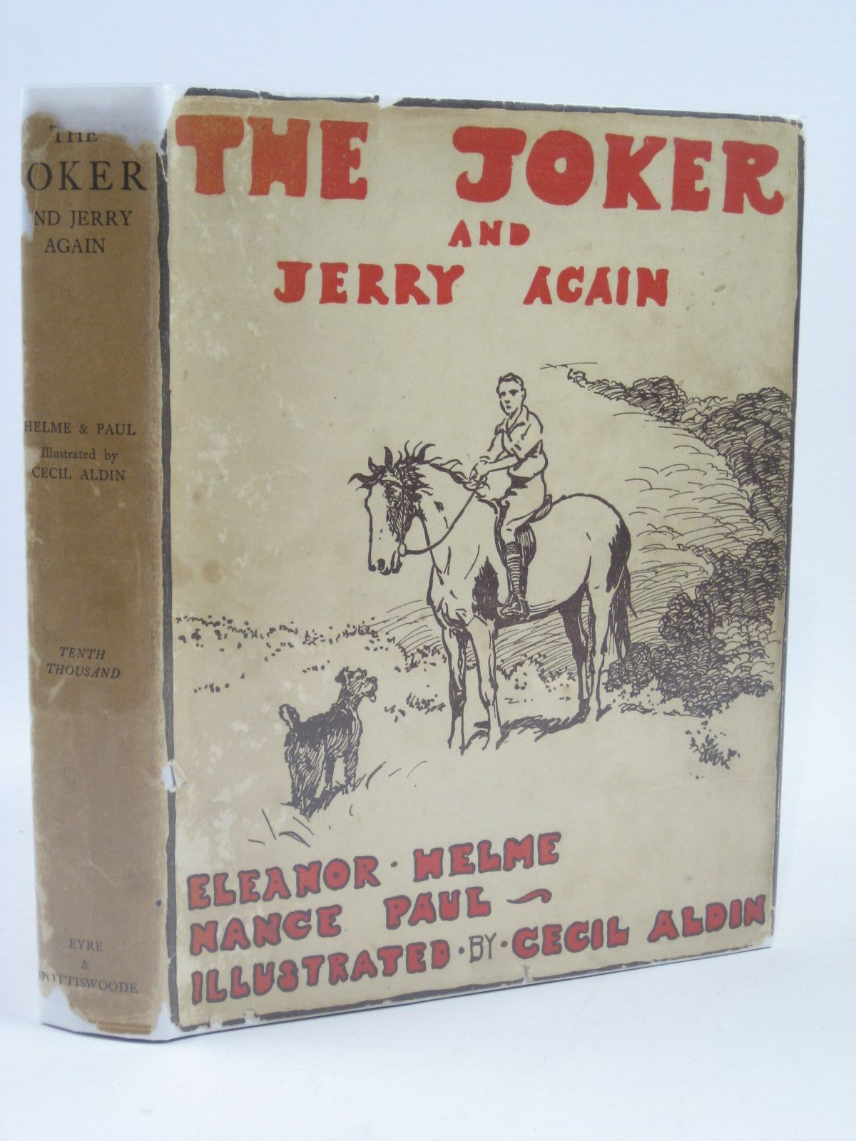 Photo of THE JOKER AND JERRY AGAIN written by Helme, Eleanor<br />Paul, Nance illustrated by Aldin, Cecil published by Eyre & Spottiswoode (STOCK CODE: 1406502)  for sale by Stella & Rose's Books