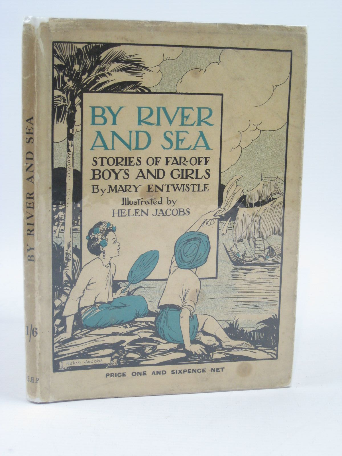 Photo of BY RIVER AND SEA STORIES OF FAR-OFF BOYS AND GIRLS written by Entwistle, Mary illustrated by Jacobs, Helen published by Edinburgh House Press (STOCK CODE: 1406506)  for sale by Stella & Rose's Books