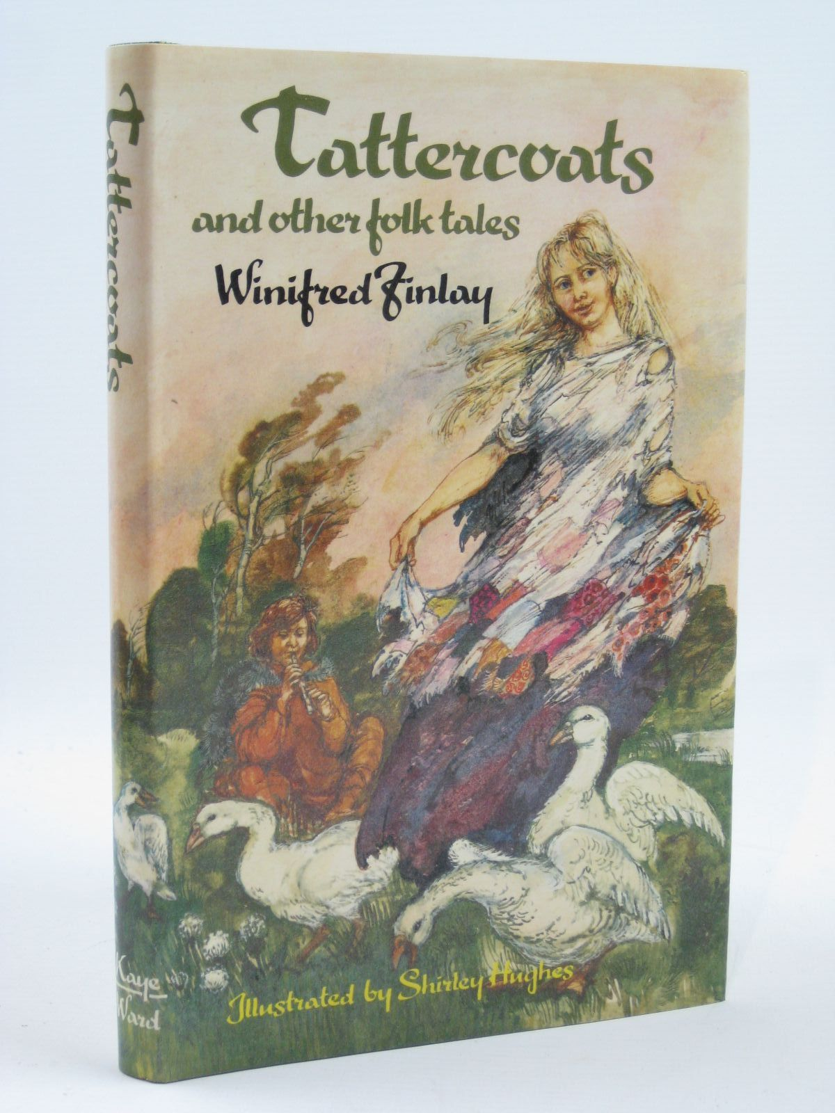 Photo of TATTERCOATS AND OTHER FOLK TALES written by Finlay, Winifred illustrated by Hughes, Shirley published by Kaye & Ward (STOCK CODE: 1406542)  for sale by Stella & Rose's Books