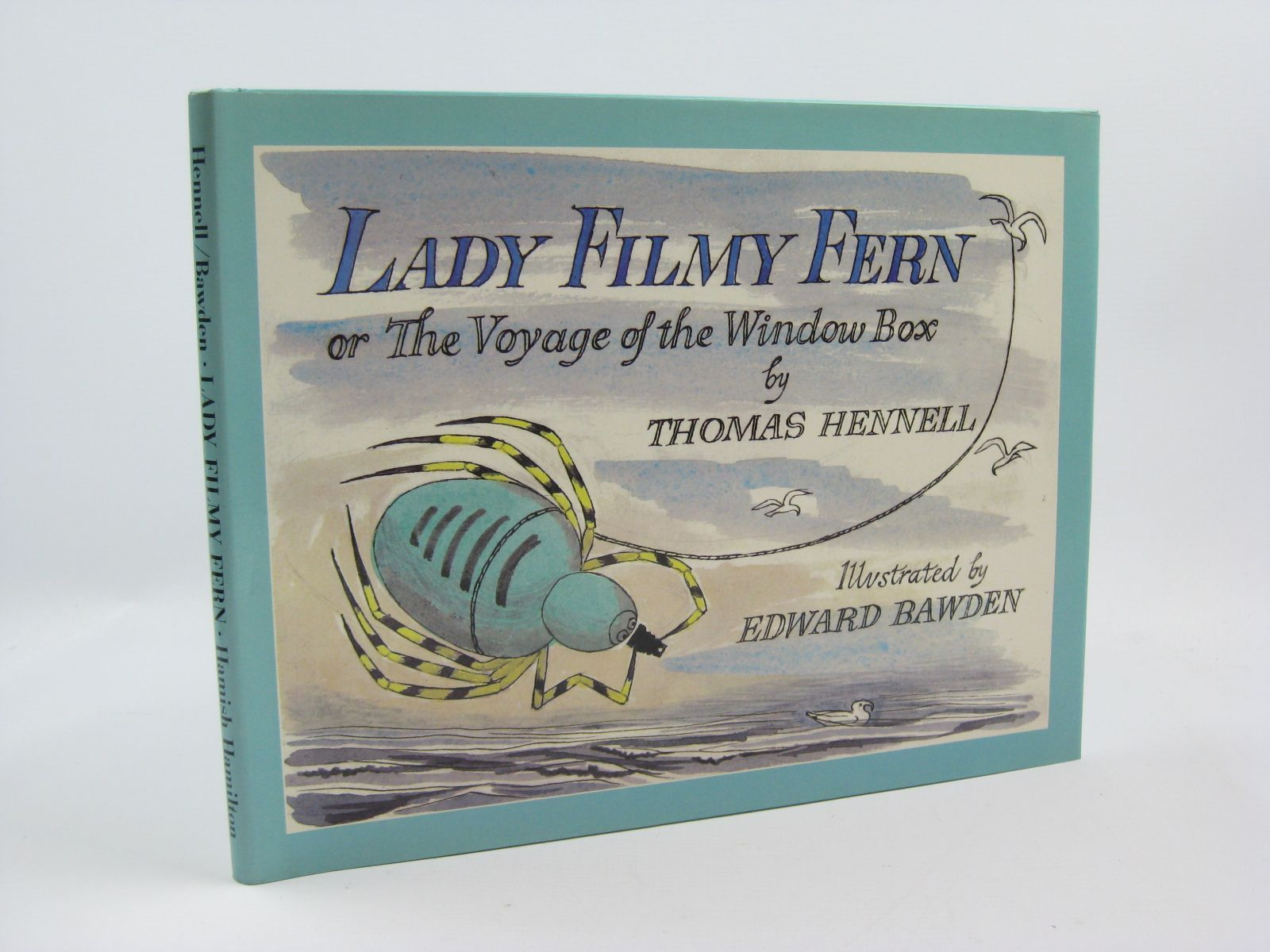 Photo of LADY FILMY FERN written by Hennell, Thomas illustrated by Bawden, Edward published by Hamish Hamilton (STOCK CODE: 1406591)  for sale by Stella & Rose's Books