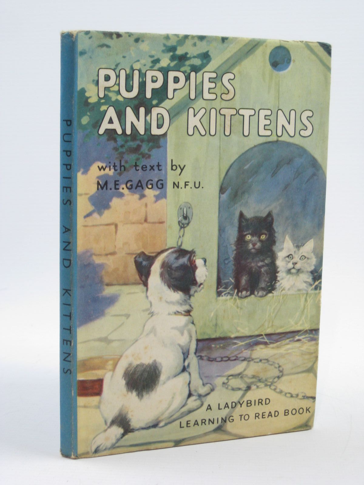 Photo of PUPPIES AND KITTENS written by Gagg, M.E. illustrated by Woolley, H. published by Wills & Hepworth Ltd. (STOCK CODE: 1406610)  for sale by Stella & Rose's Books