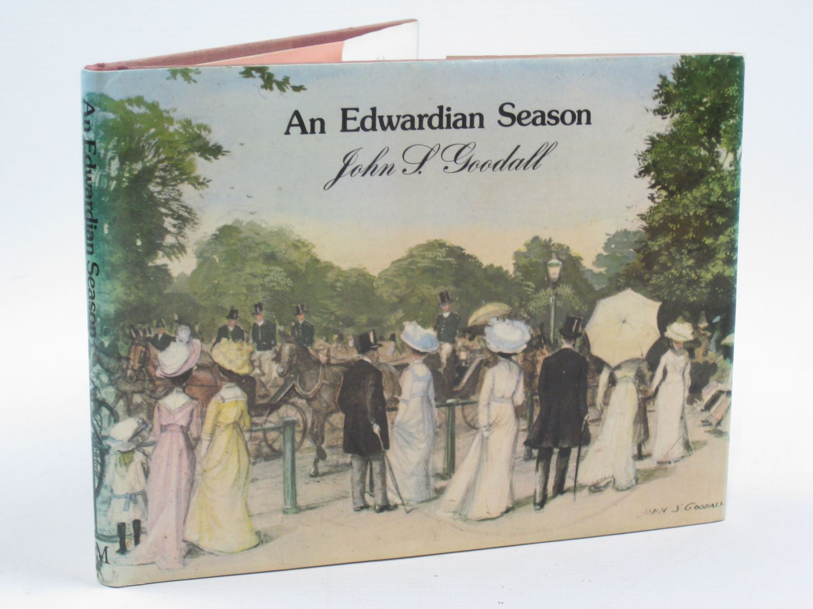 Photo of AN EDWARDIAN SEASON written by Goodall, John S. illustrated by Goodall, John S. published by Macmillan London Limited (STOCK CODE: 1406630)  for sale by Stella & Rose's Books
