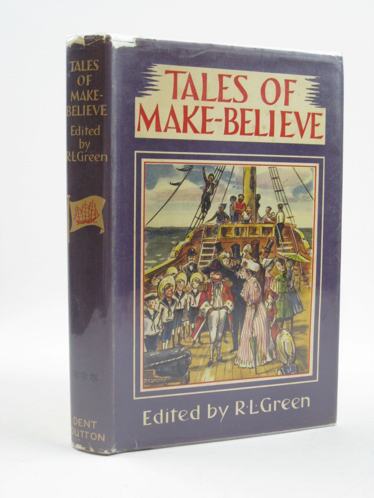 Photo of TALES OF MAKE-BELIEVE written by Green, Roger Lancelyn illustrated by Toothill, Harry published by J.M. Dent & Sons Ltd. (STOCK CODE: 1406648)  for sale by Stella & Rose's Books
