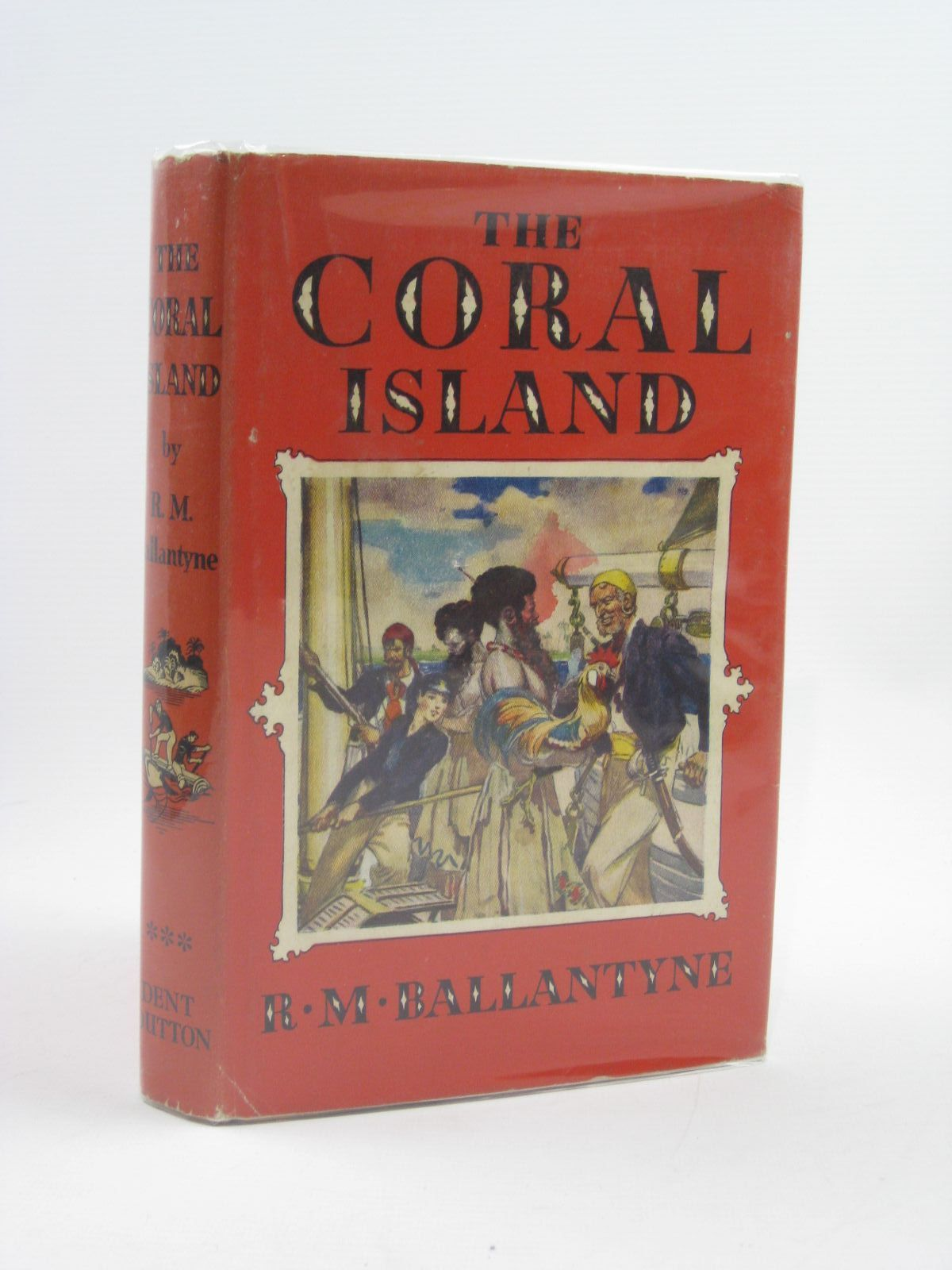 Photo of THE CORAL ISLAND written by Ballantyne, R.M. illustrated by Bates, Leo published by J.M. Dent & Sons Ltd. (STOCK CODE: 1406657)  for sale by Stella & Rose's Books