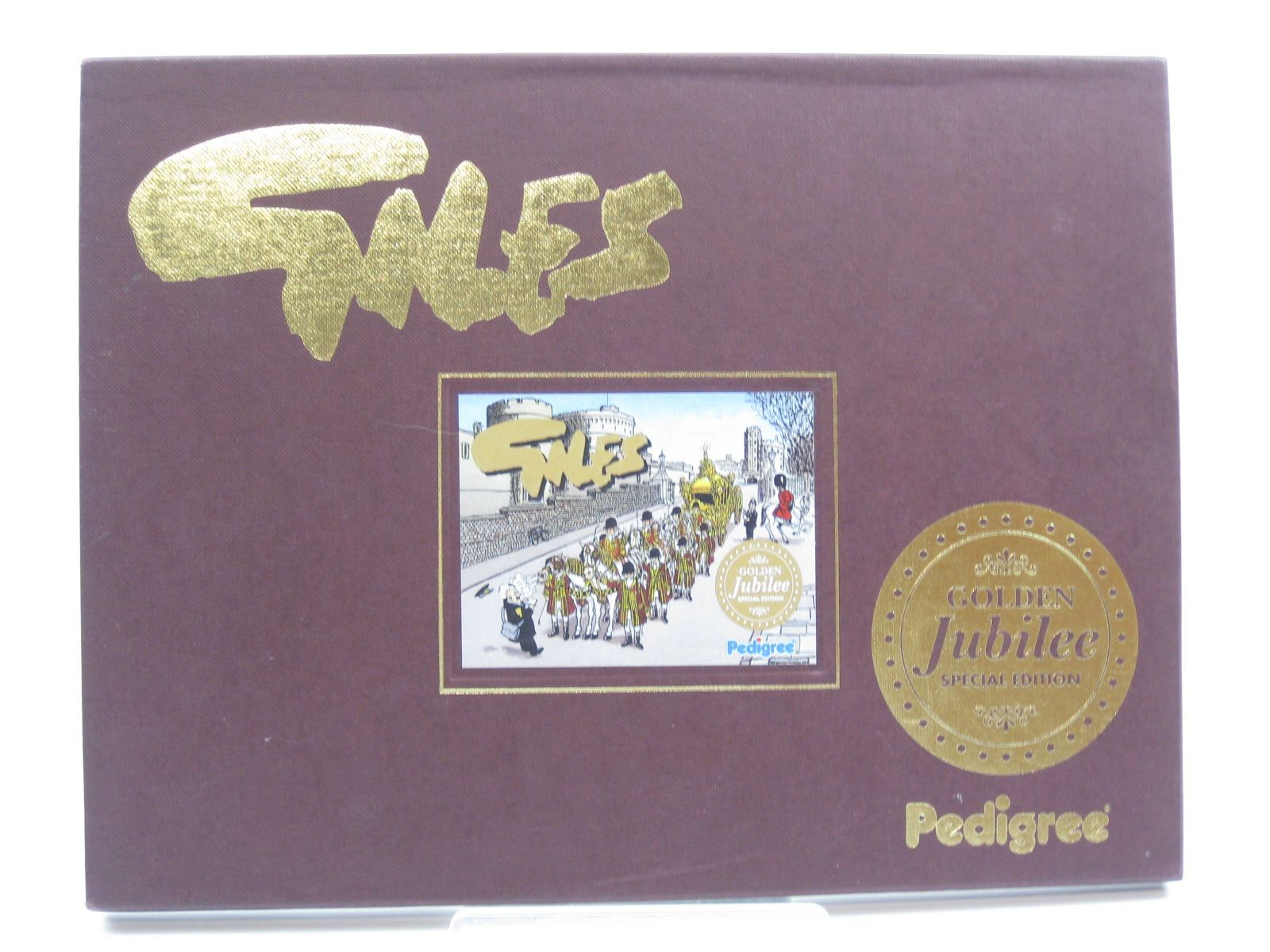 Photo of GILES GOLDEN JUBILEE SPECIAL EDITION written by Giles,  illustrated by Giles,  published by Pedigree Books Limited (STOCK CODE: 1406673)  for sale by Stella & Rose's Books