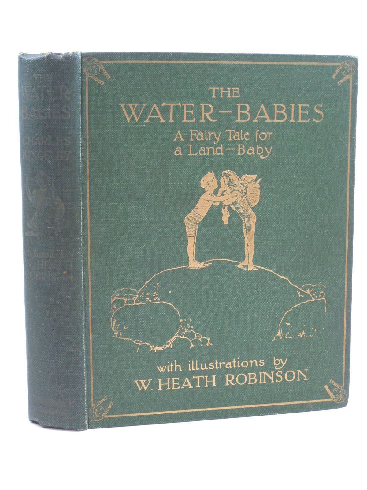 Photo of THE WATER-BABIES written by Kingsley, Charles illustrated by Robinson, W. Heath published by Constable & Co. Ltd. (STOCK CODE: 1406768)  for sale by Stella & Rose's Books