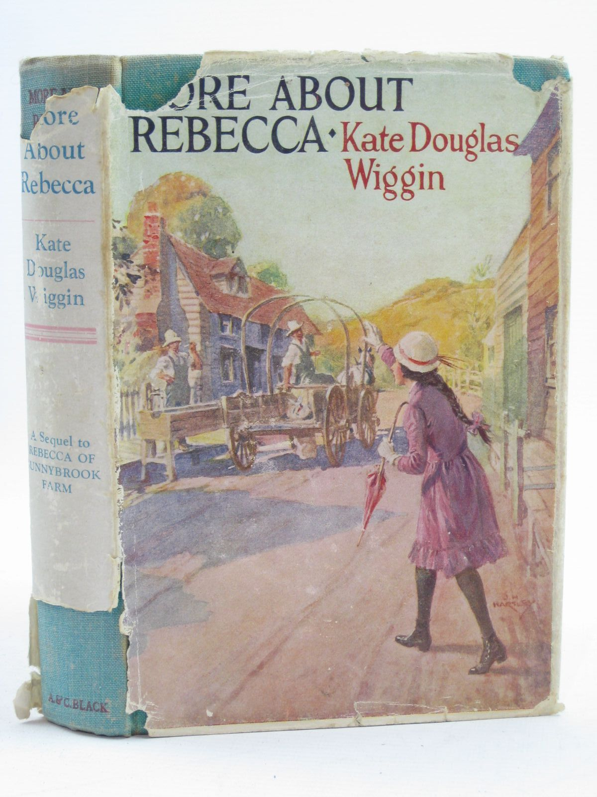 Photo of MORE ABOUT REBECCA written by Wiggin, Kate Douglas published by A. & C. Black Ltd. (STOCK CODE: 1406806)  for sale by Stella & Rose's Books