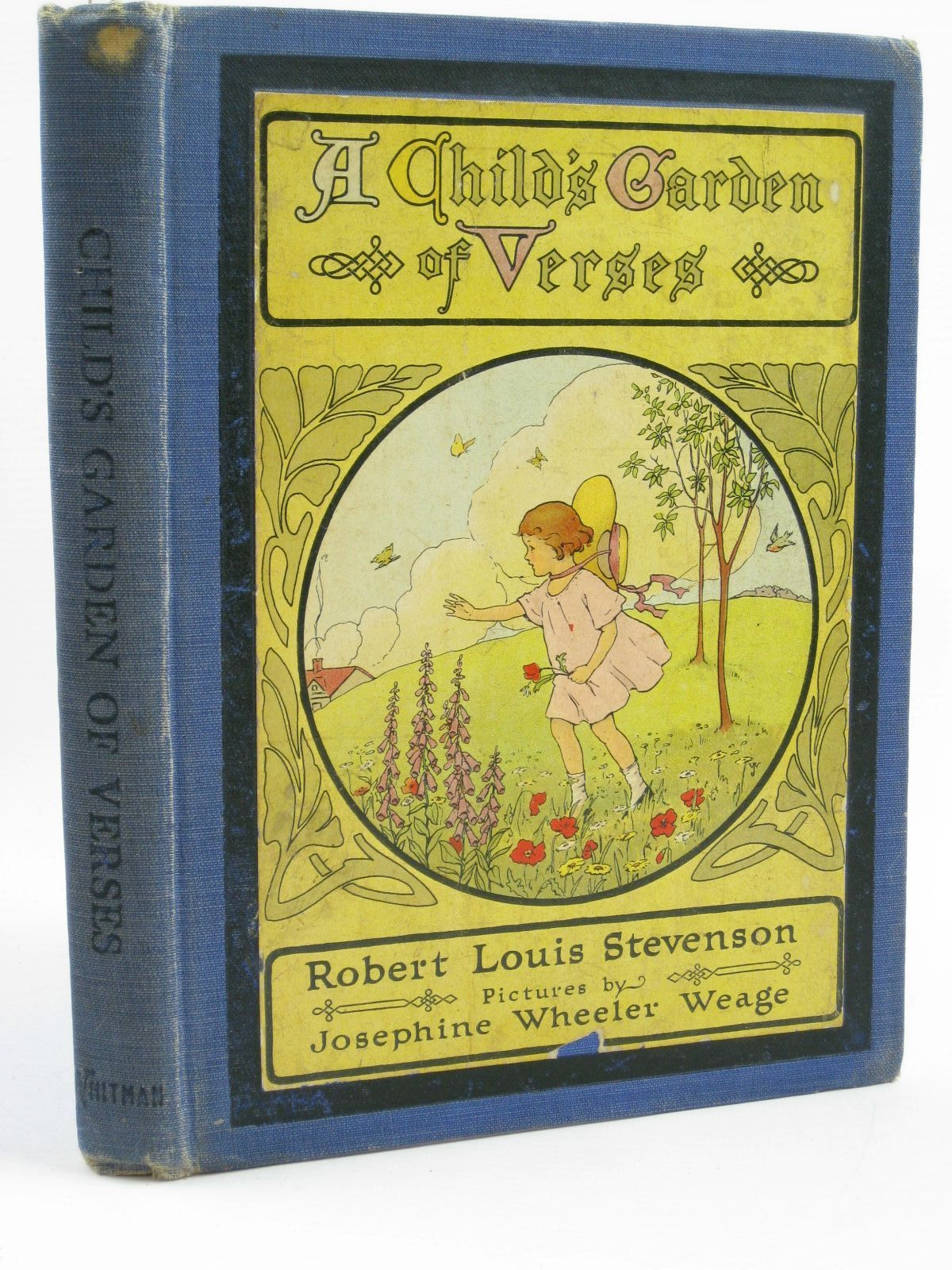 photo of a childs garden of verses written by stevenson robert louis illustrated by weage - A Childs Garden Of Verses