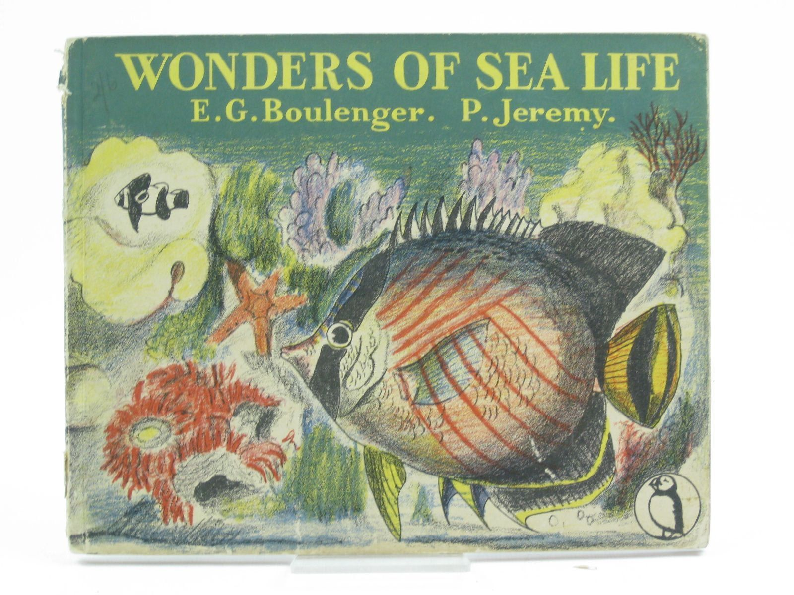 Photo of WONDERS OF SEA LIFE written by Boulenger, E.G. illustrated by Jeremy, Peggy published by Penguin (STOCK CODE: 1406834)  for sale by Stella & Rose's Books