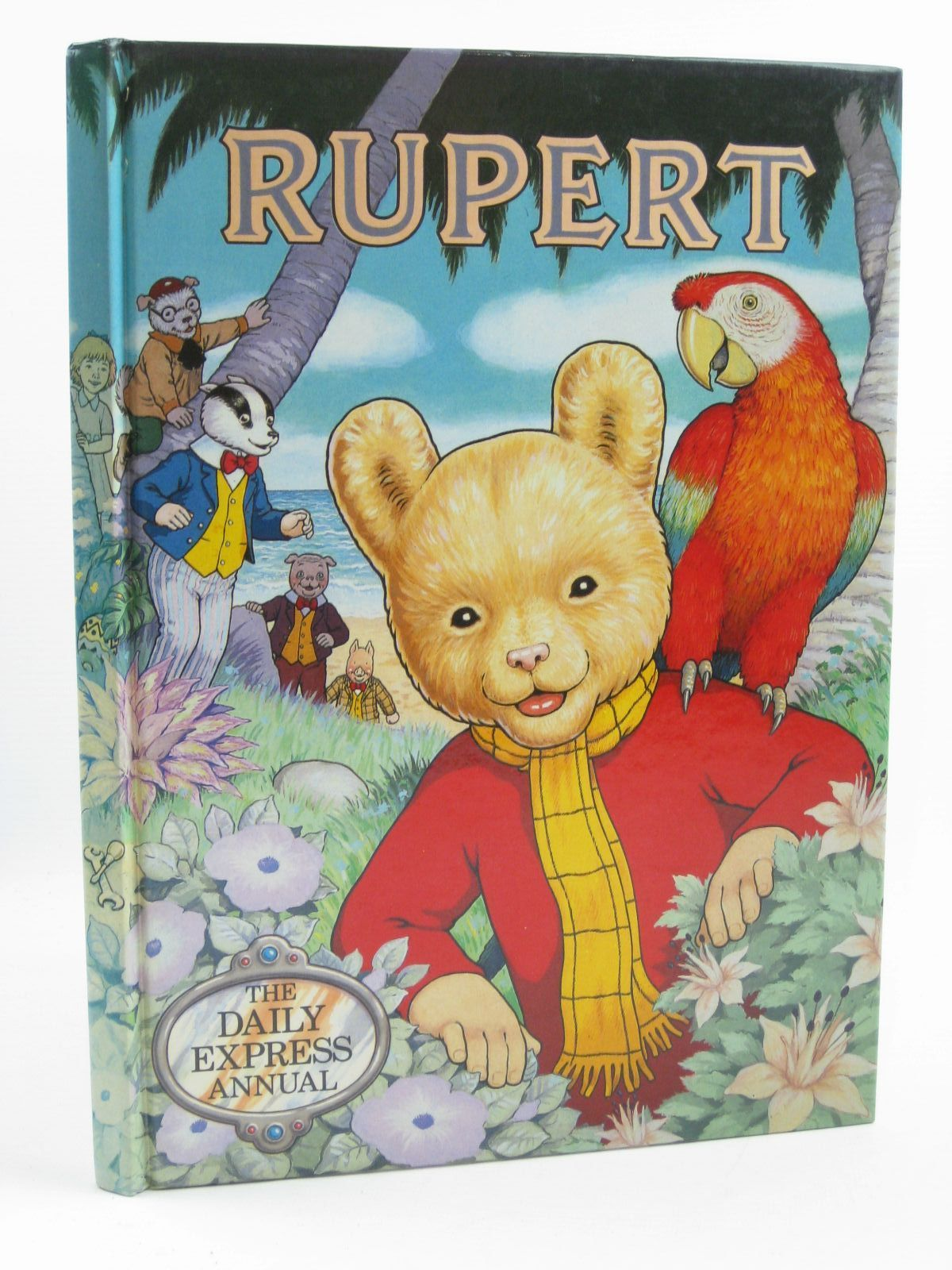 Photo of RUPERT ANNUAL 1987 written by Henderson, James illustrated by Harrold, John published by Daily Express (STOCK CODE: 1406873)  for sale by Stella & Rose's Books