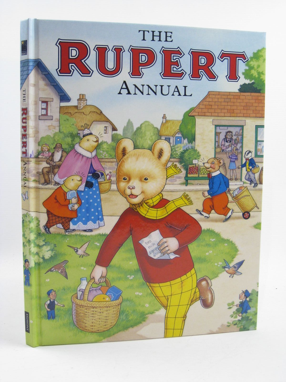 Photo of RUPERT ANNUAL 2007 written by Henderson, James illustrated by Harrold, John published by Egmont Uk Limited (STOCK CODE: 1406879)  for sale by Stella & Rose's Books