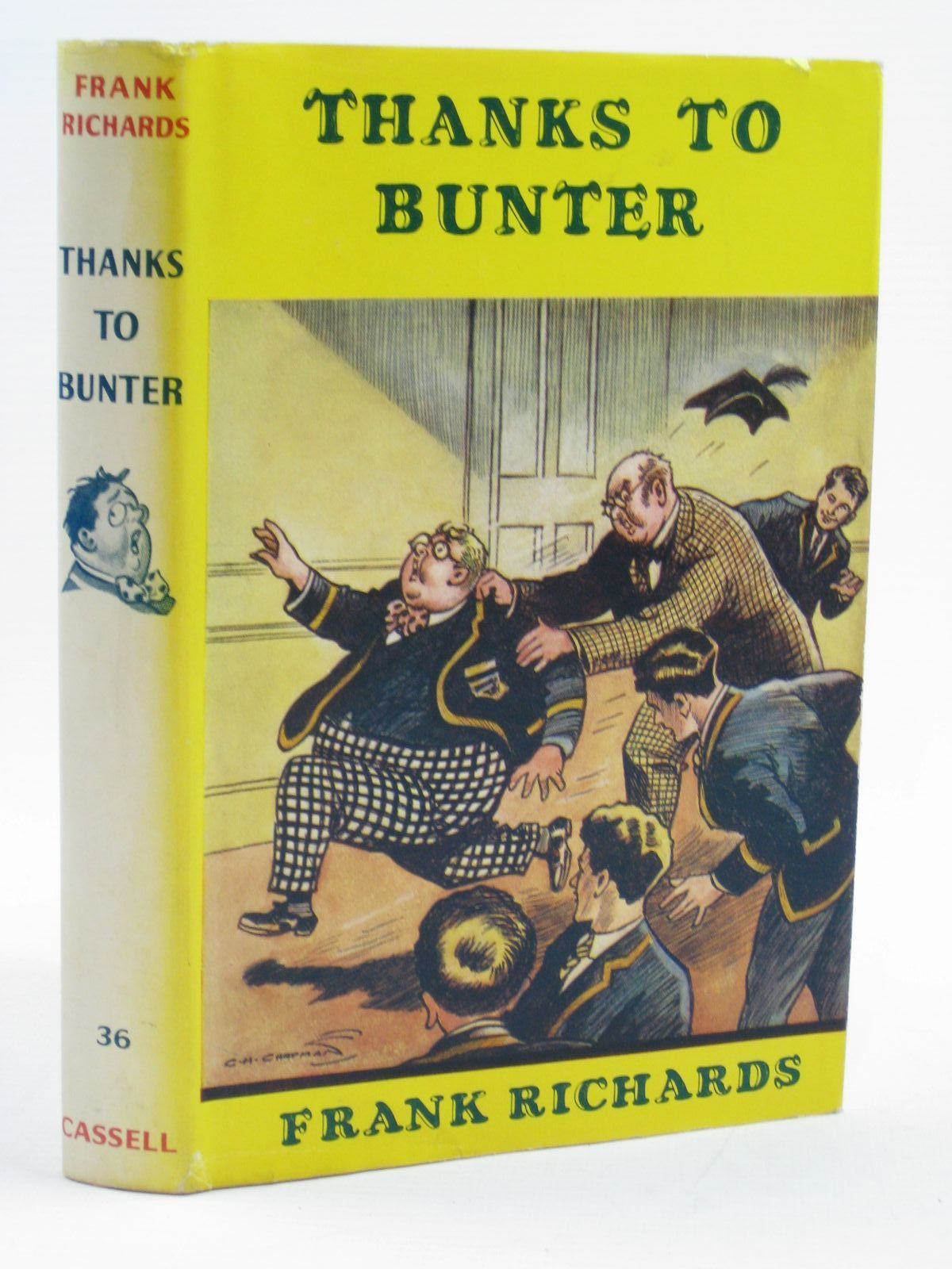 Photo of THANKS TO BUNTER written by Richards, Frank illustrated by Chapman, C.H. published by Cassell (STOCK CODE: 1406900)  for sale by Stella & Rose's Books