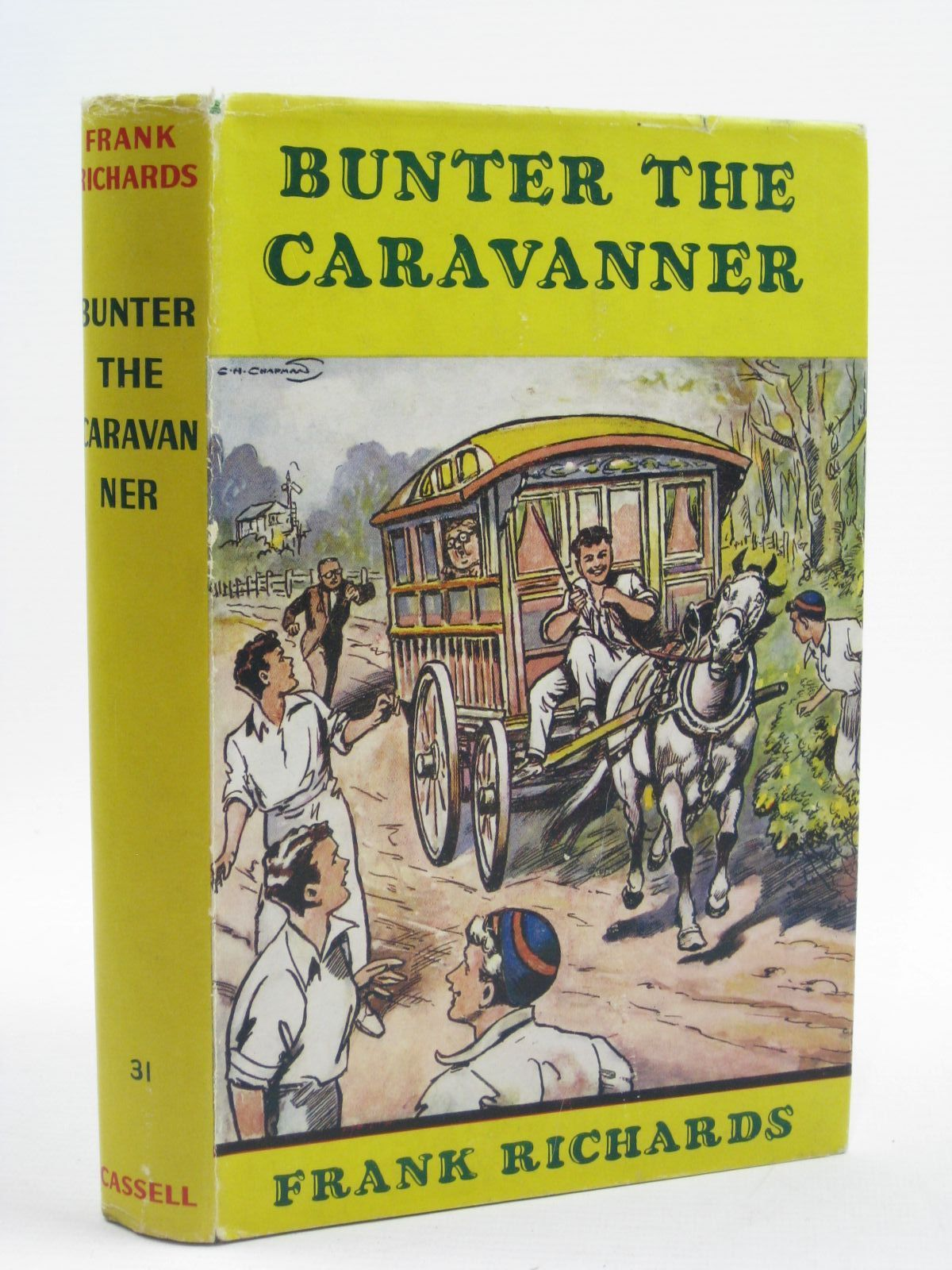 Photo of BUNTER THE CARAVANNER written by Richards, Frank illustrated by Chapman, C.H. published by Cassell & Company Ltd (STOCK CODE: 1406903)  for sale by Stella & Rose's Books