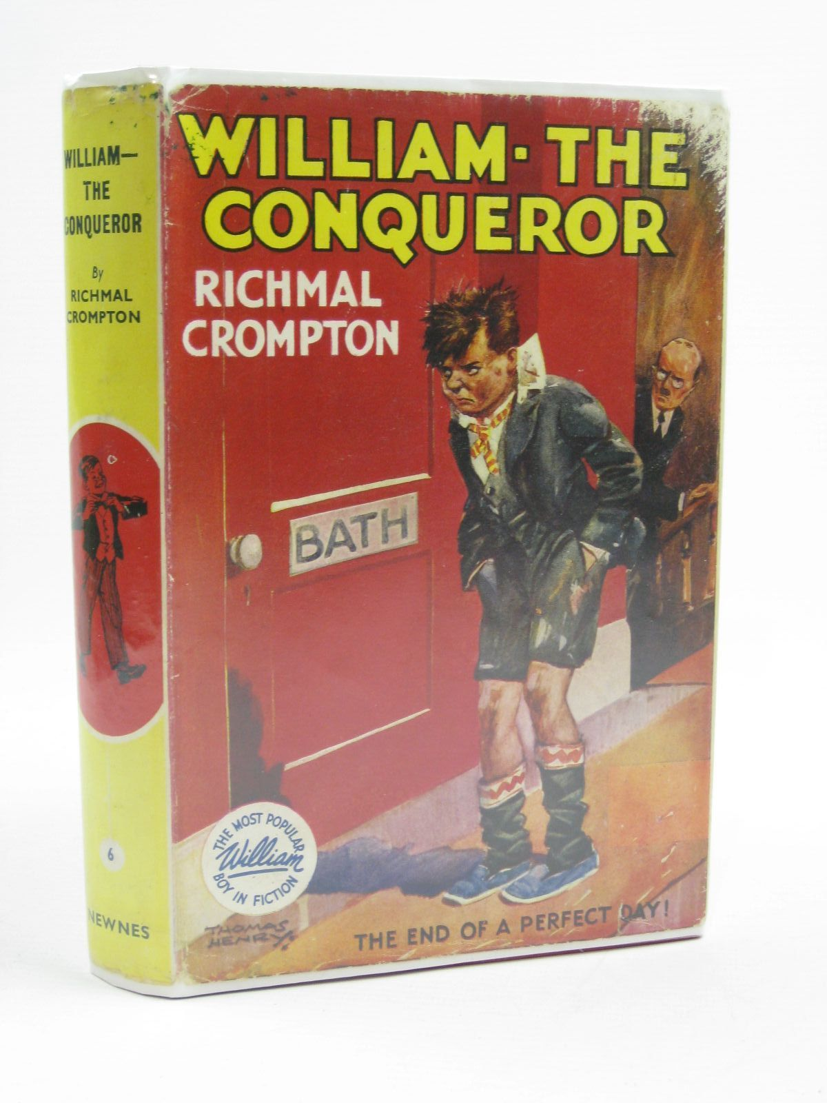 Photo of WILLIAM THE CONQUEROR written by Crompton, Richmal illustrated by Henry, Thomas published by George Newnes Limited (STOCK CODE: 1406911)  for sale by Stella & Rose's Books
