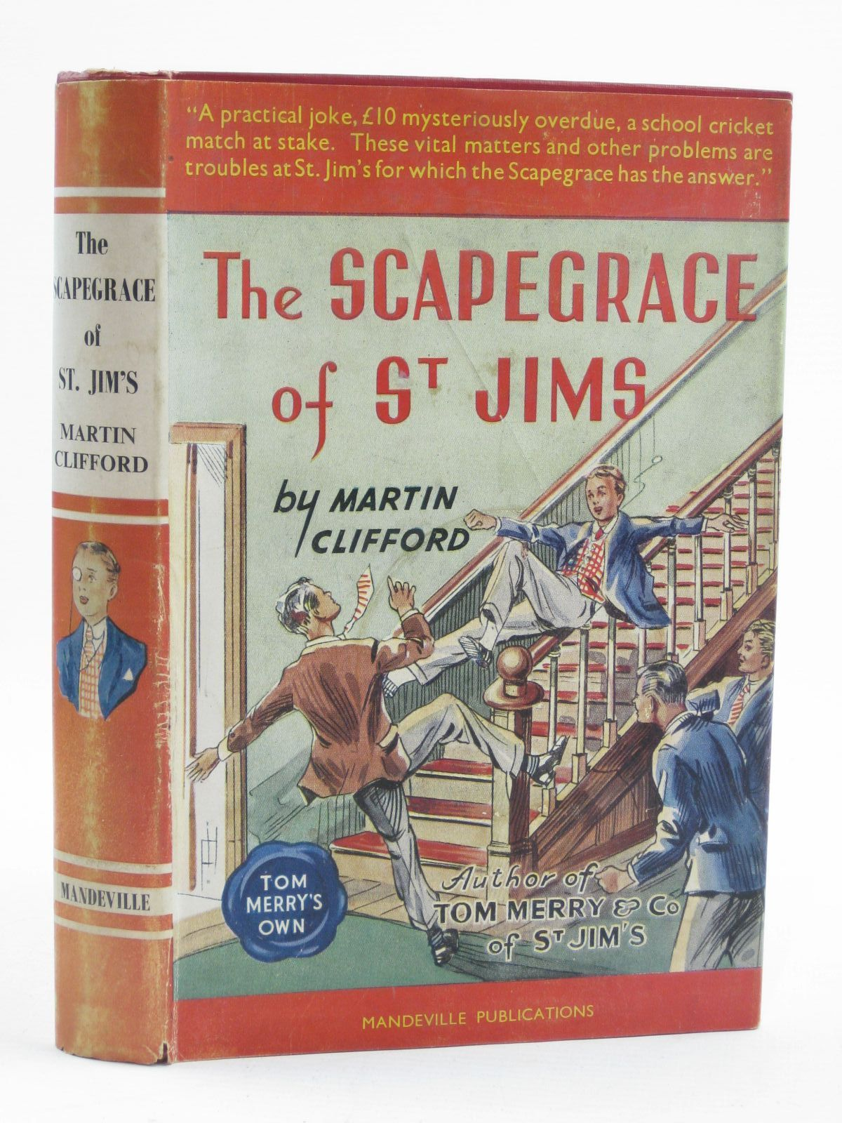 Photo of THE SCAPEGRACE OF ST. JIM'S written by Clifford, Martin<br />Richards, Frank published by Spring Books (STOCK CODE: 1406916)  for sale by Stella & Rose's Books