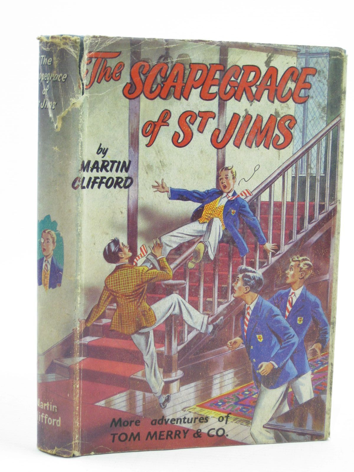 Photo of THE SCAPEGRACE OF ST. JIMS written by Clifford, Martin<br />Richards, Frank published by Spring Books (STOCK CODE: 1406919)  for sale by Stella & Rose's Books