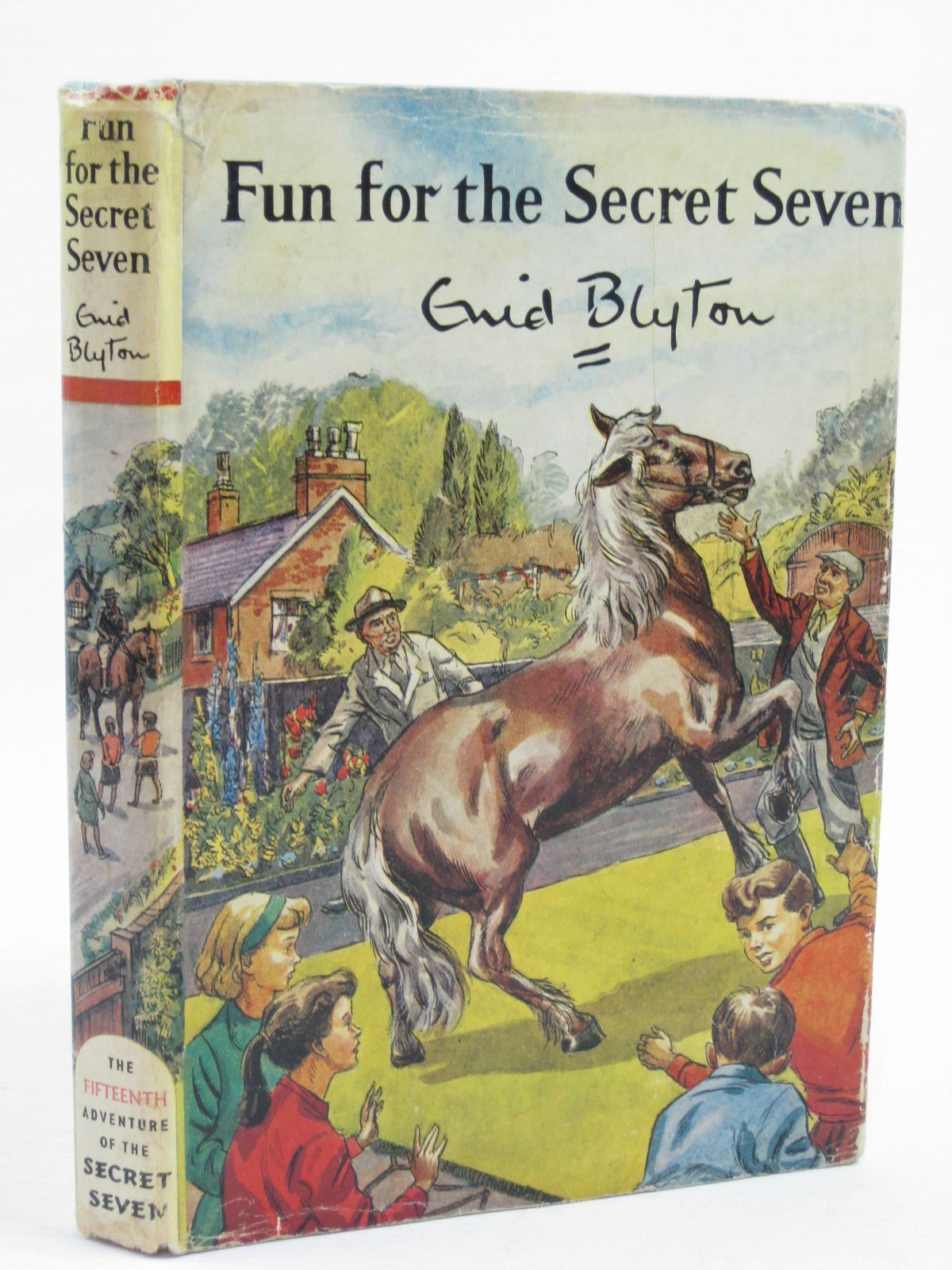 Photo of FUN FOR THE SECRET SEVEN written by Blyton, Enid illustrated by Sharrocks, Burgess published by Brockhampton Press (STOCK CODE: 1406953)  for sale by Stella & Rose's Books
