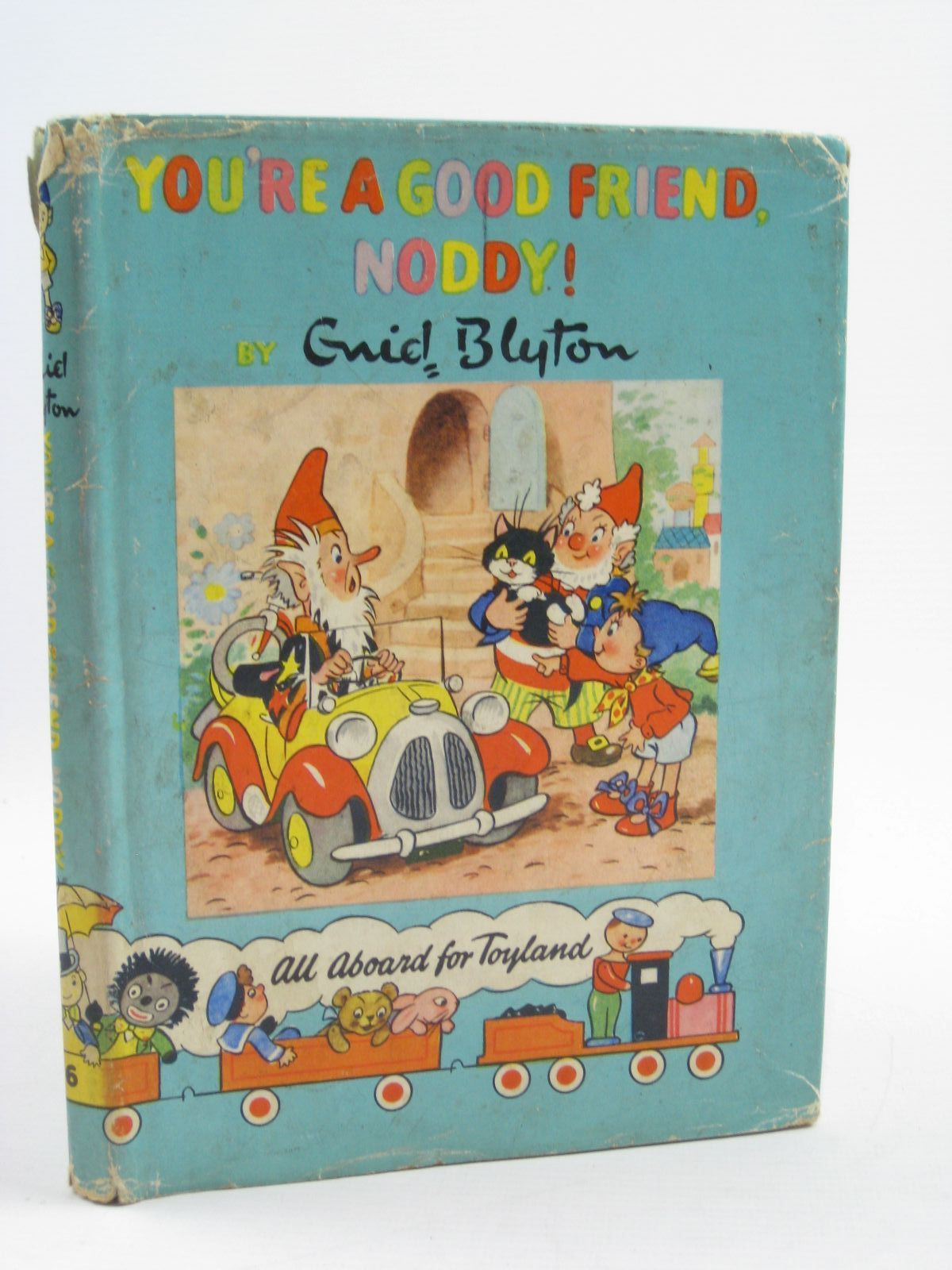 Photo of YOU'RE A GOOD FRIEND NODDY! written by Blyton, Enid illustrated by Lee, Robert<br />Tyndall, Robert published by Sampson Low, Marston & Co. Ltd., D.V. Publications Ltd. (STOCK CODE: 1406998)  for sale by Stella & Rose's Books