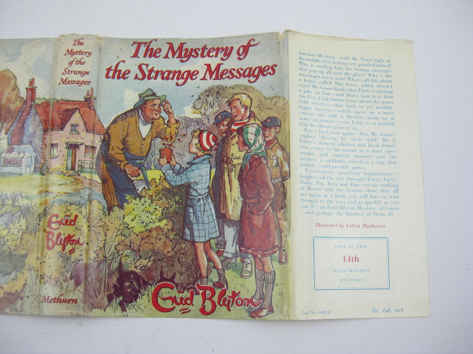 Photo of THE MYSTERY OF THE STRANGE MESSAGES written by Blyton, Enid illustrated by Buchanan, Lilian published by Methuen & Co. Ltd. (STOCK CODE: 1407006)  for sale by Stella & Rose's Books