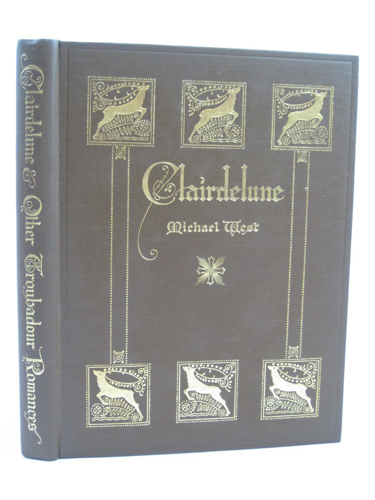 Photo of CLAIR DE LUNE AND OTHER TROUBADOUR ROMANCES written by West, Michael<br />Mereer, Alfred illustrated by Paul, Evelyn published by George G. Harrap & Co. (STOCK CODE: 1407020)  for sale by Stella & Rose's Books