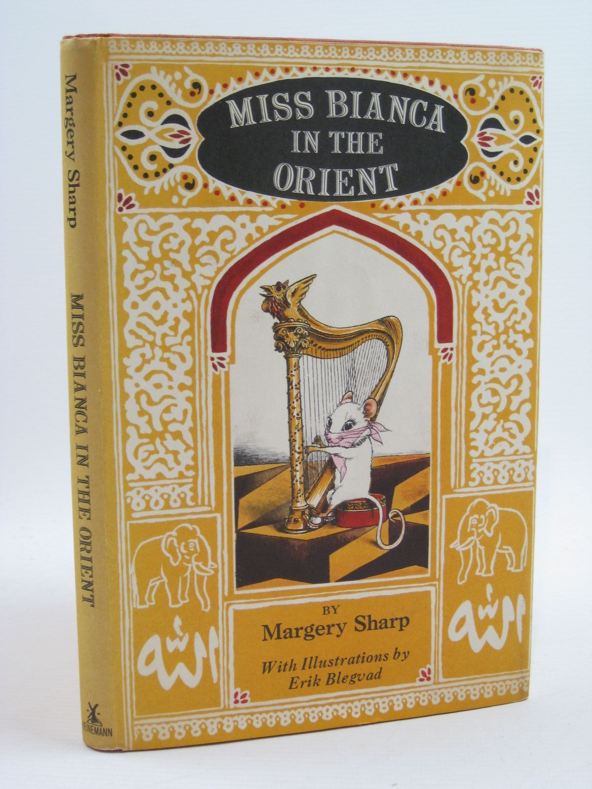 Photo of MISS BIANCA IN THE ORIENT written by Sharp, Margery illustrated by Blegvad, Erik published by Heinemann (STOCK CODE: 1407027)  for sale by Stella & Rose's Books