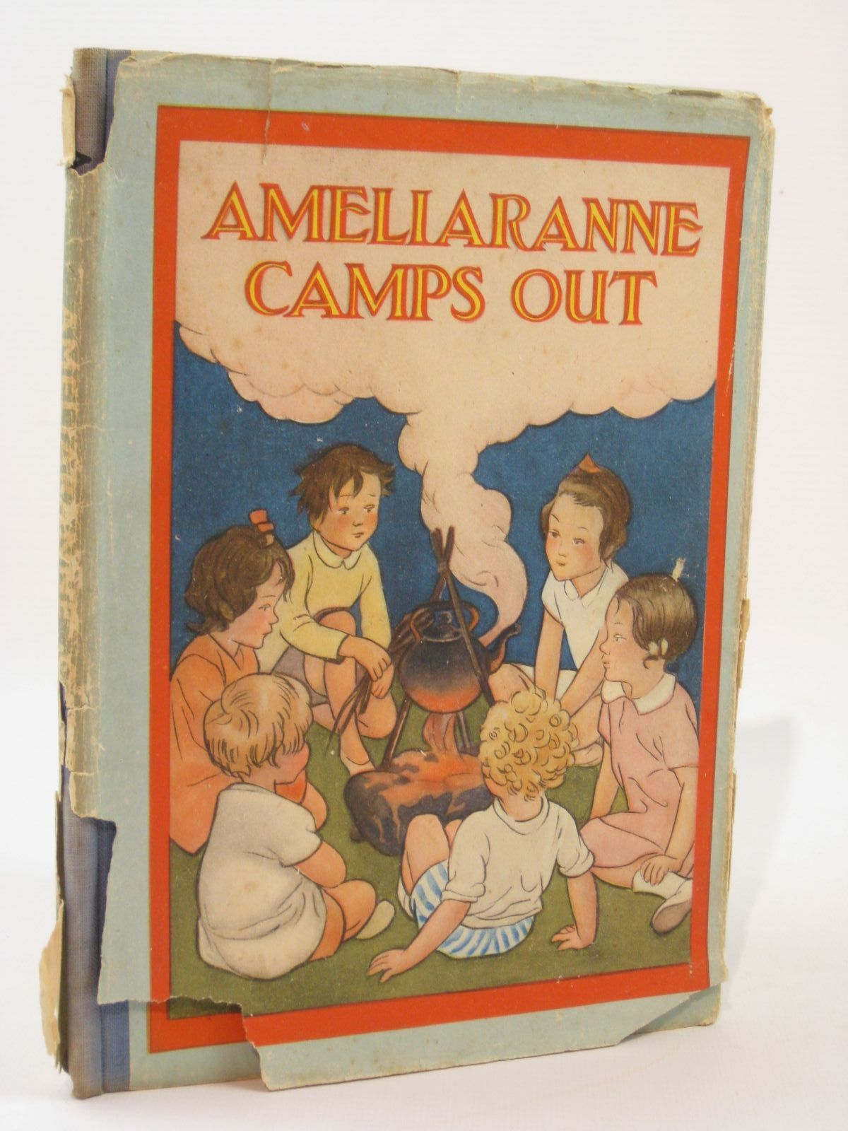Photo of AMELIARANNE CAMPS OUT written by Heward, Constance illustrated by Pearse, S.B. published by George G. Harrap & Co. Ltd. (STOCK CODE: 1407081)  for sale by Stella & Rose's Books