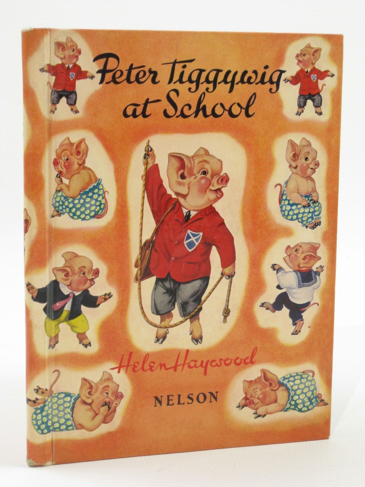 Photo of PETER TIGGYWIG AT SCHOOL written by Haywood, Helen illustrated by Haywood, Helen published by Thomas Nelson and Sons Ltd. (STOCK CODE: 1407086)  for sale by Stella & Rose's Books