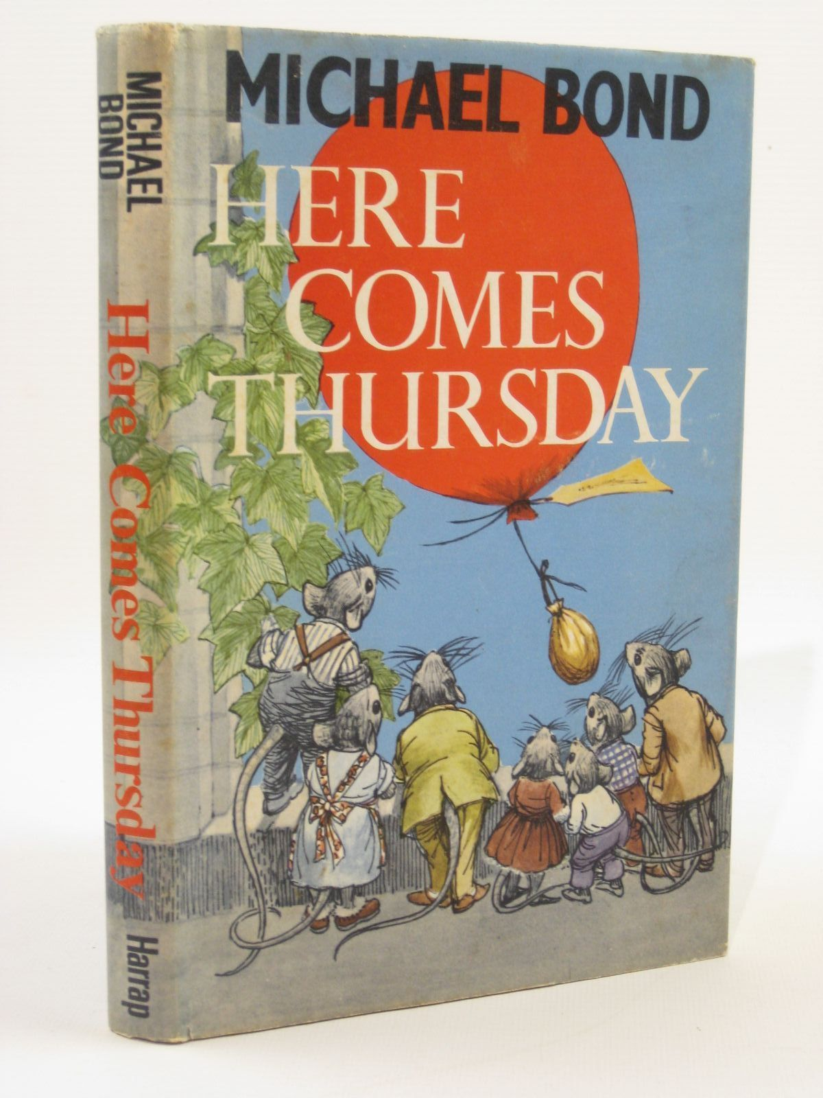 Photo of HERE COMES THURSDAY! written by Bond, Michael illustrated by Rowles, Daphne published by George G. Harrap & Co. Ltd. (STOCK CODE: 1407093)  for sale by Stella & Rose's Books
