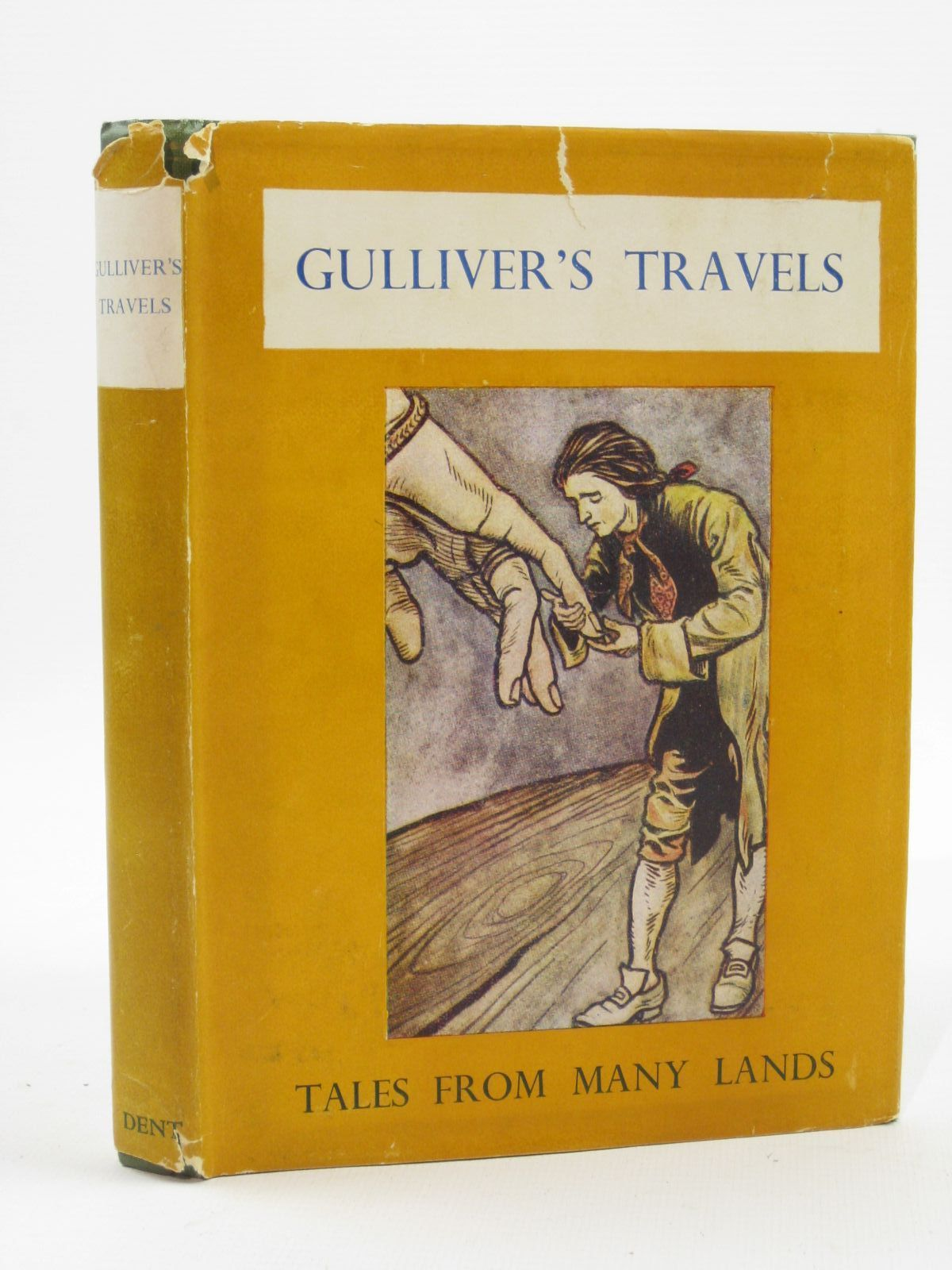 Photo of GULLIVER'S TRAVELS written by Swift, Jonathan illustrated by Rackham, Arthur published by J.M. Dent & Sons Ltd. (STOCK CODE: 1407101)  for sale by Stella & Rose's Books