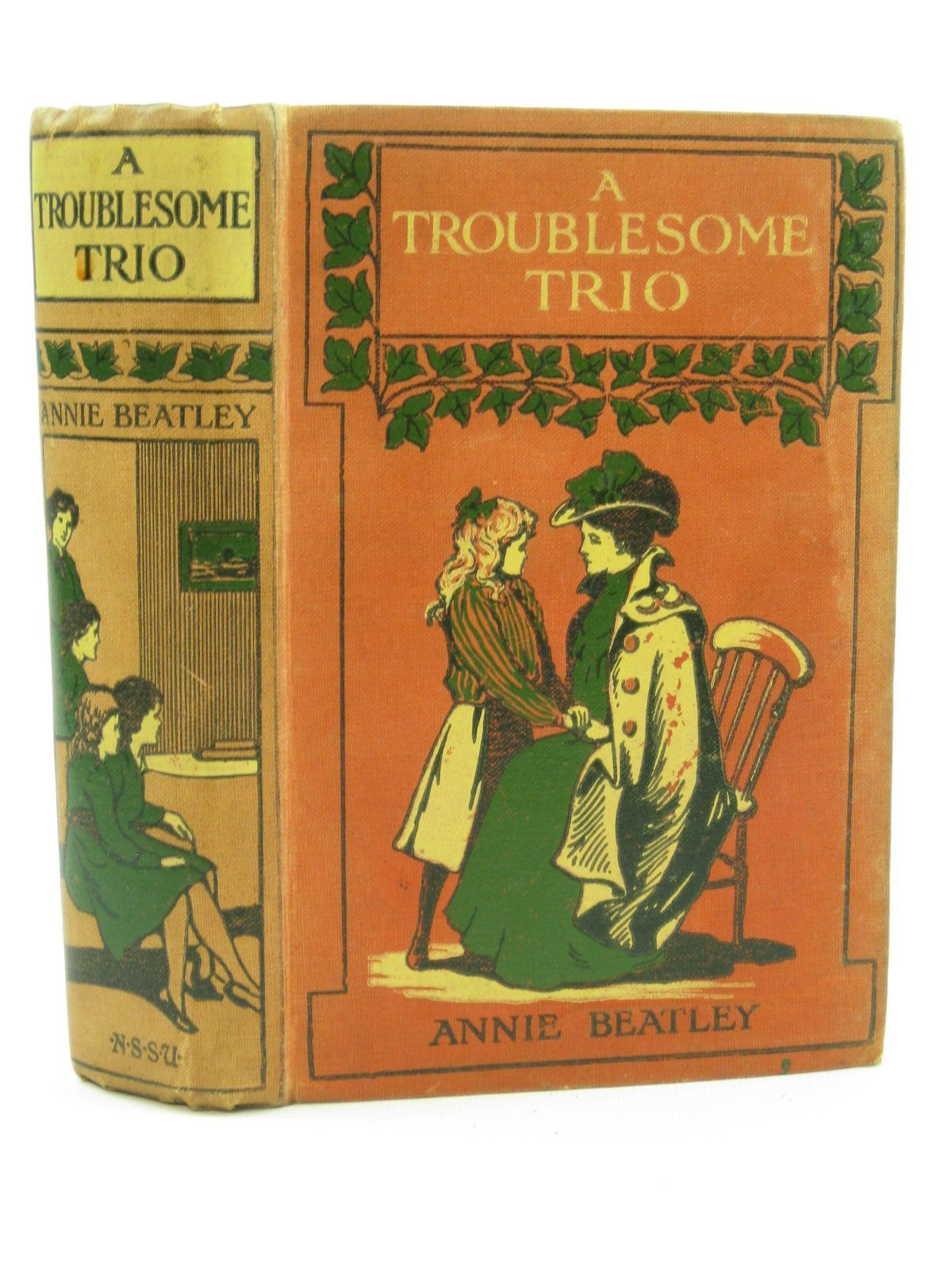 Photo of A TROUBLESOME TRIO written by Beatley, Annie published by The National Sunday School Union (STOCK CODE: 1407105)  for sale by Stella & Rose's Books