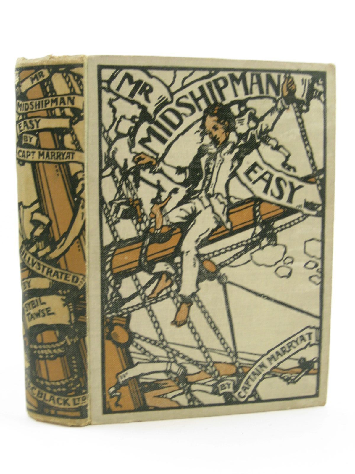 Photo of MR. MIDSHIPMAN EASY written by Marryat, Captain Frederick illustrated by Tawse, Sybil published by A. & C. Black Ltd. (STOCK CODE: 1407112)  for sale by Stella & Rose's Books