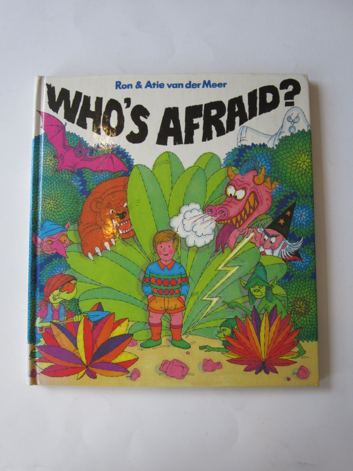Photo of WHO'S AFRAID? written by Van Der Meer, Ron<br />Van Der Meer, Atie published by Hamish Hamilton (STOCK CODE: 1501032)  for sale by Stella & Rose's Books