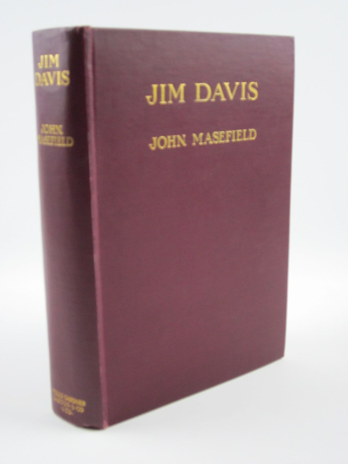 Photo of JIM DAVIS written by Masefield, John illustrated by Schaeffer, Mead published by Wells Gardner, Darton & Co. Limited (STOCK CODE: 1501303)  for sale by Stella & Rose's Books