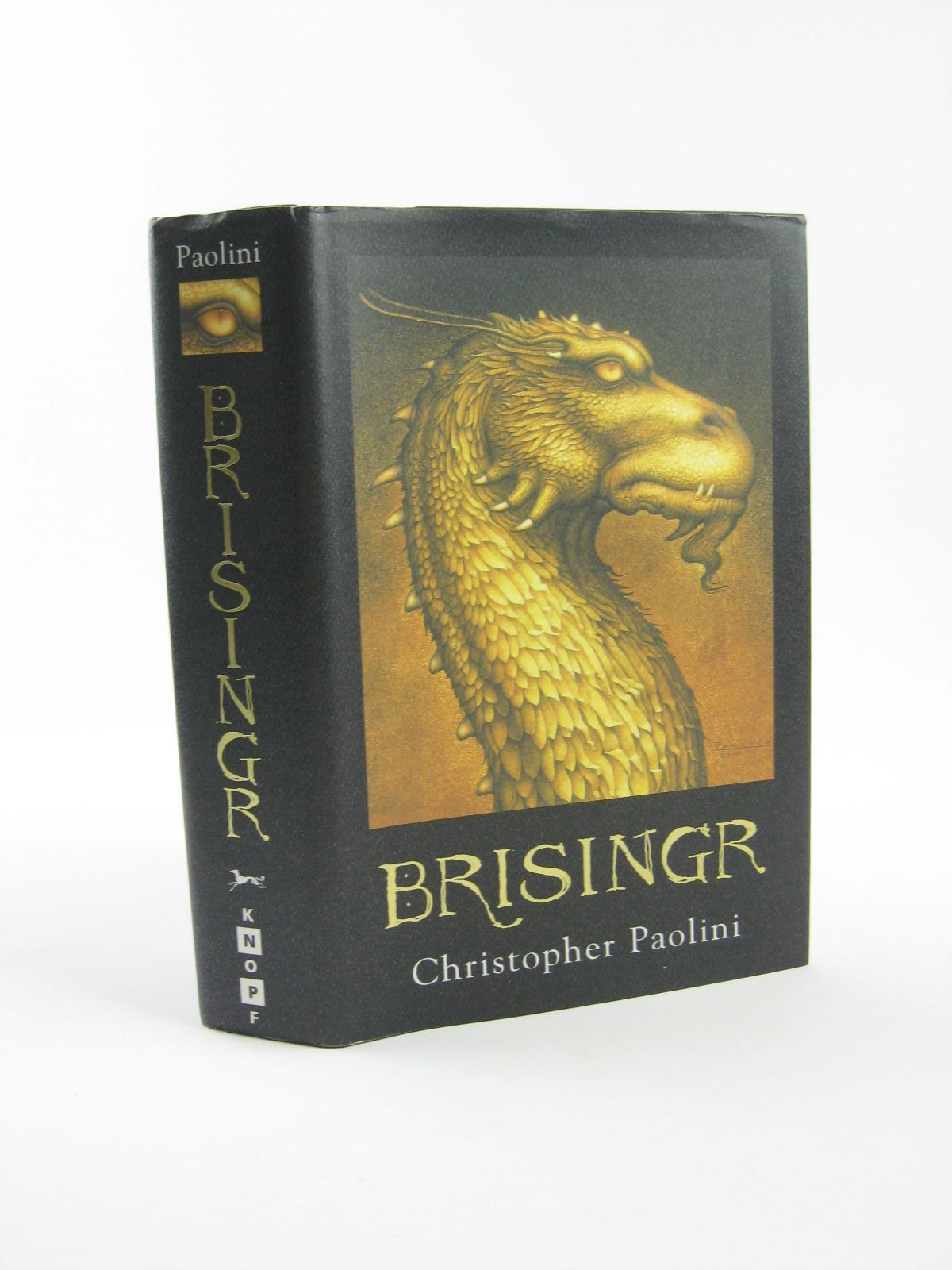 Photo of BRISINGR written by Paolini, Christopher published by Alfred A. Knopf (STOCK CODE: 1501424)  for sale by Stella & Rose's Books