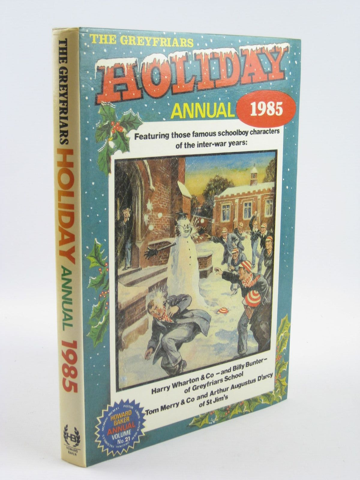 Photo of THE GREYFRIARS HOLIDAY ANNUAL 1985