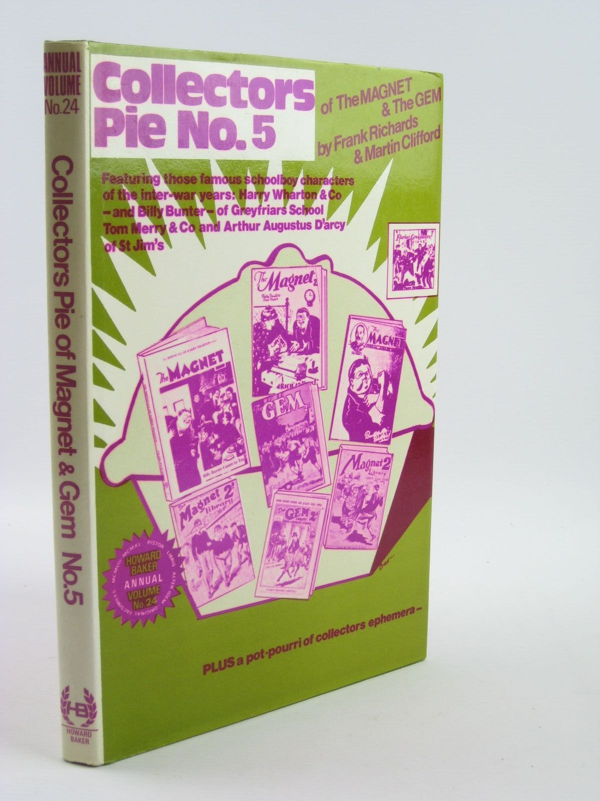 Photo of COLLECTORS PIE OF MAGNET & GEM NUMBER FIVE