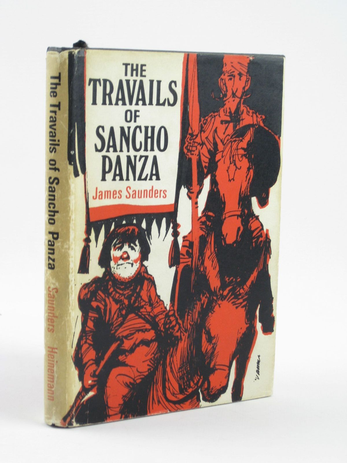 Photo of THE TRAVAILS OF SANCHO PANZA written by Saunders, James published by Heinemann (STOCK CODE: 1501694)  for sale by Stella & Rose's Books