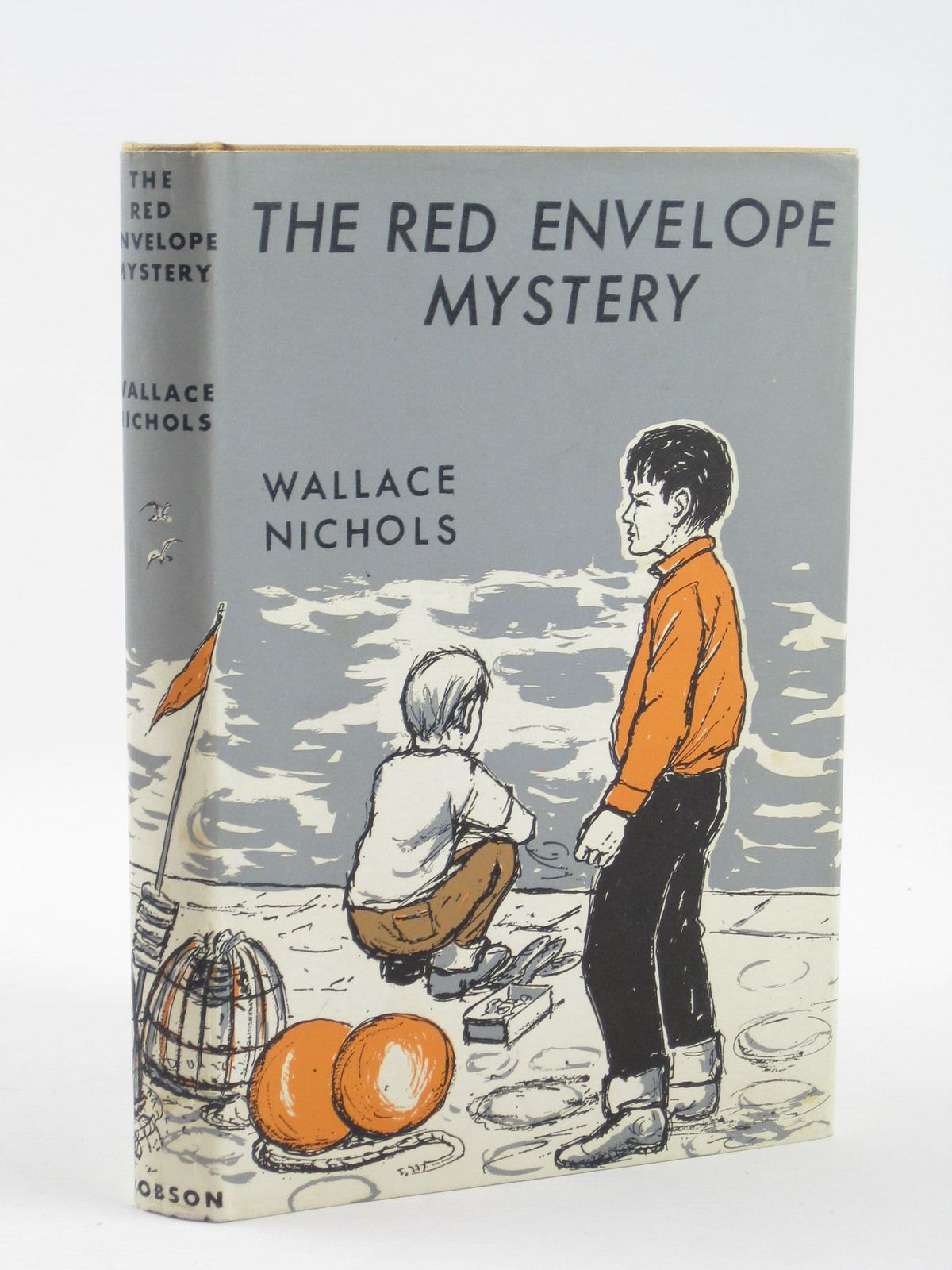 Photo of THE RED ENVELOPE MYSTERY written by Nichols, Wallace illustrated by Bissett, Douglas published by Dennis Dobson (STOCK CODE: 1501777)  for sale by Stella & Rose's Books